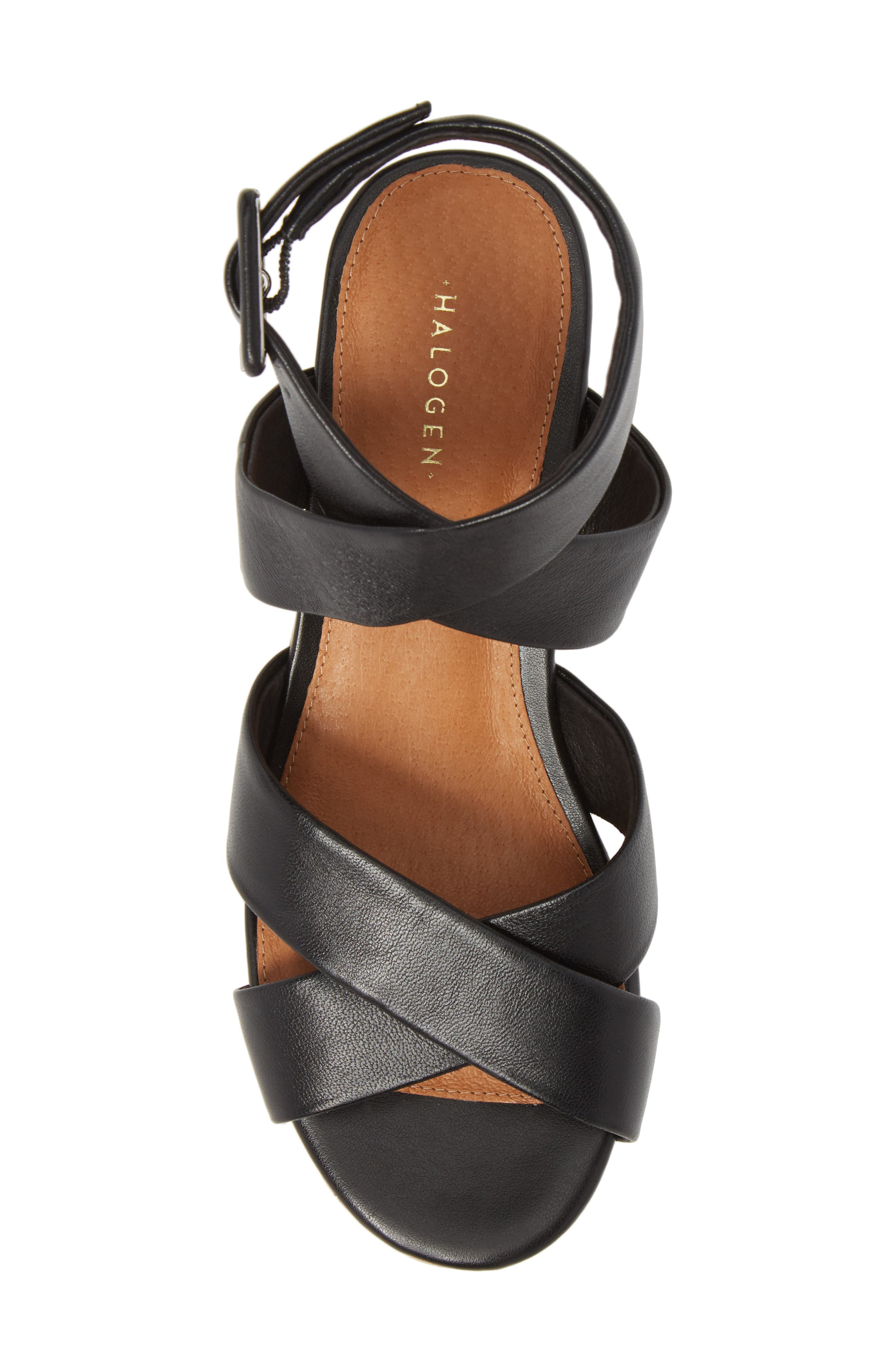 Evie Platform Wedge Sandal,                             Alternate thumbnail 9, color,