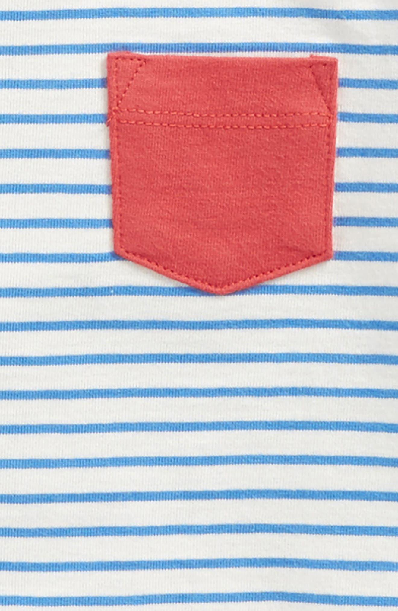 2-Pack Organic Cotton T-Shirts,                             Alternate thumbnail 2, color,                             424