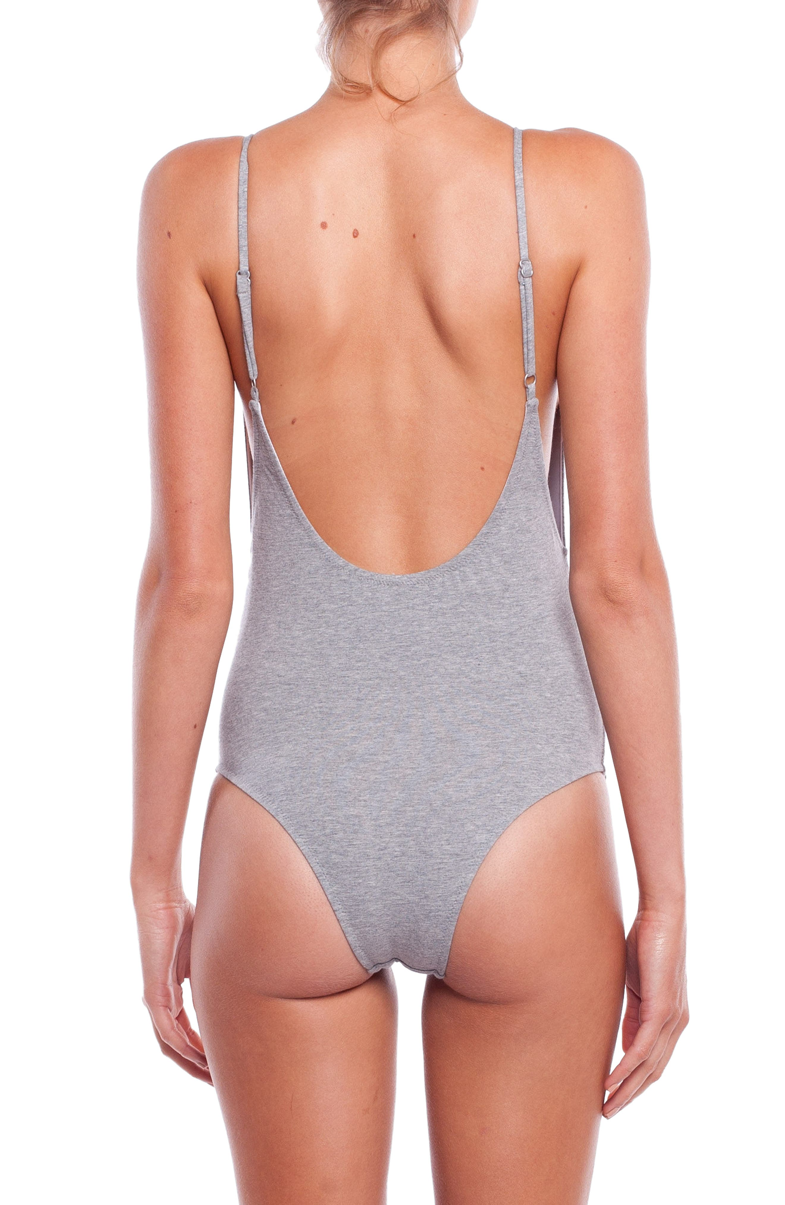 My Scoop One-Piece Swimsuit,                             Alternate thumbnail 2, color,                             020