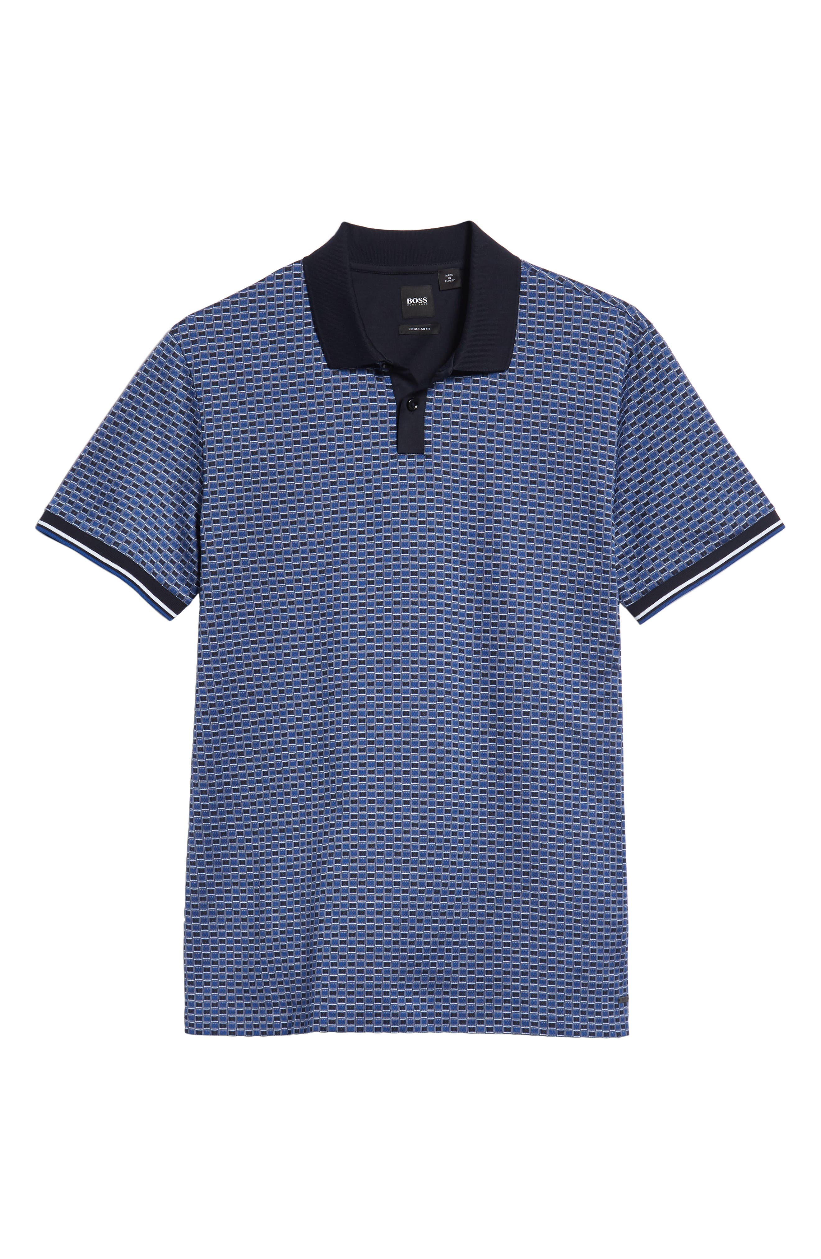 Parlay Regular Fit Polo,                             Alternate thumbnail 6, color,                             BLUE