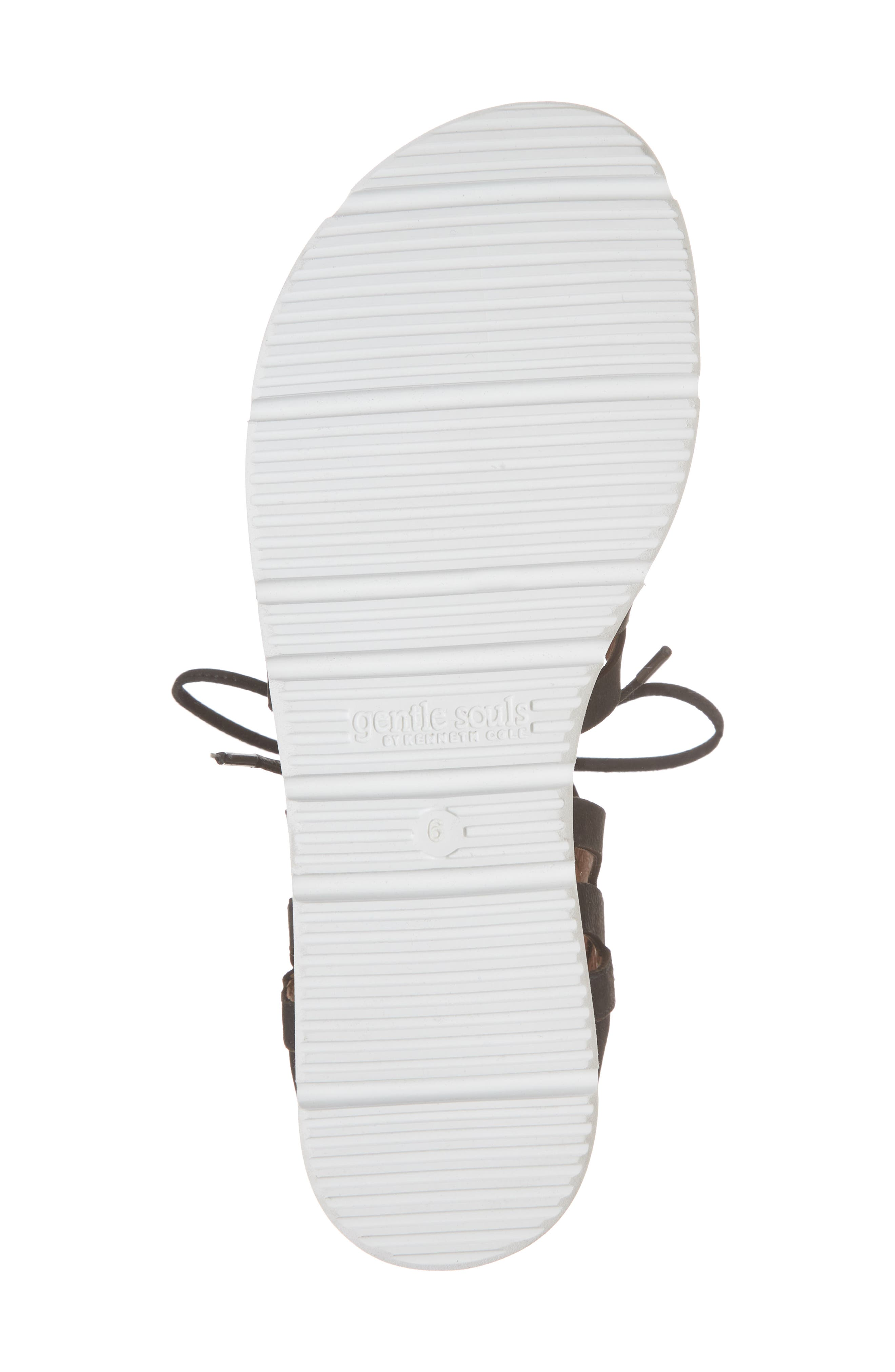 by Kenneth Cole Larina Lace-Up Sandal,                             Alternate thumbnail 6, color,                             001