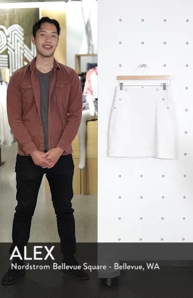 Button Detail Denim Skirt, sales video thumbnail