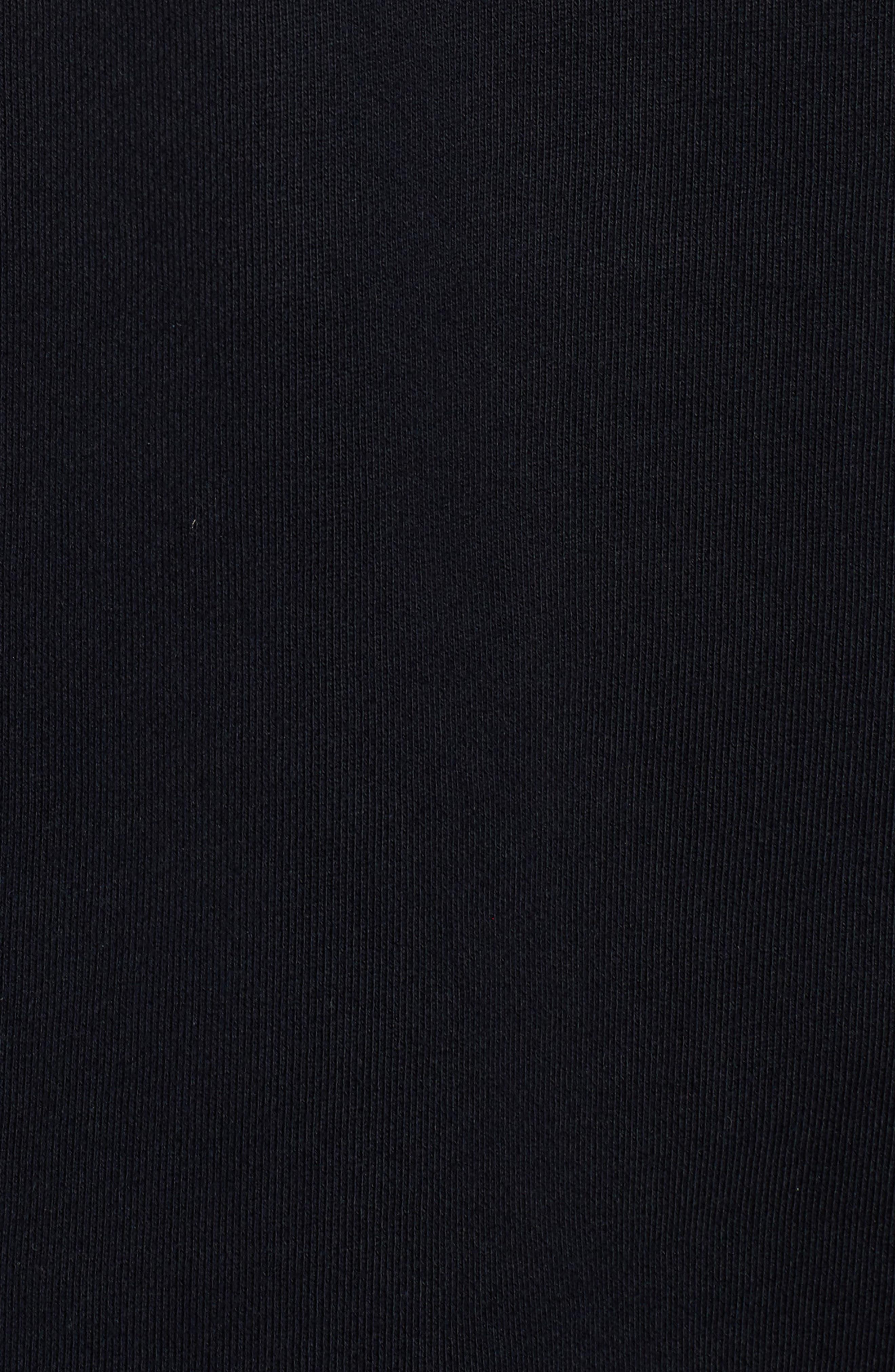 Logo Graphic Long Sleeve T-Shirt,                             Alternate thumbnail 5, color,                             001