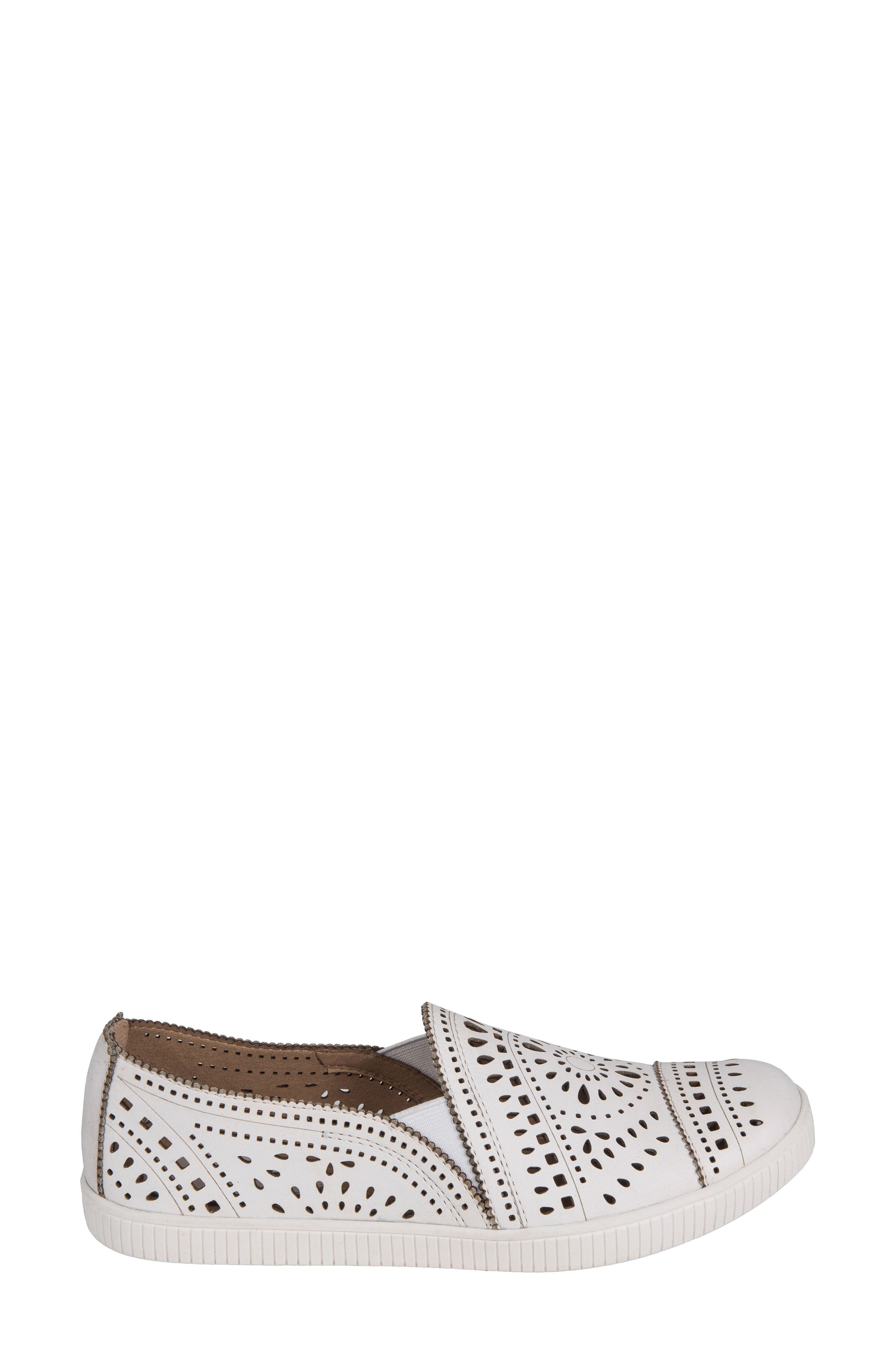 Tayberry Perforated Slip-On Sneaker,                             Alternate thumbnail 10, color,