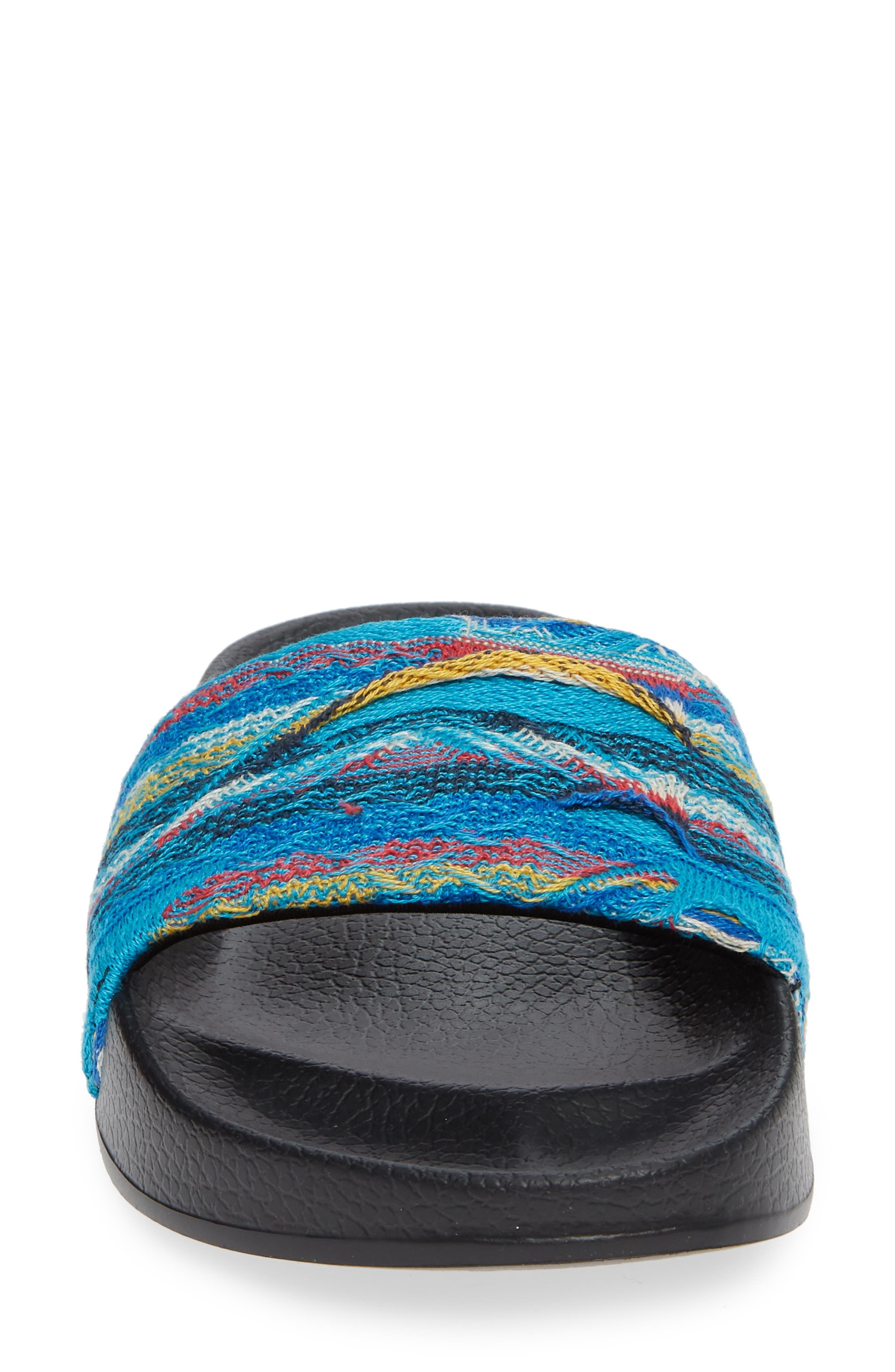 Leadcat Coogie Slide Sandal,                             Alternate thumbnail 4, color,                             ISLAND PARADISE/ PUMA BLACK