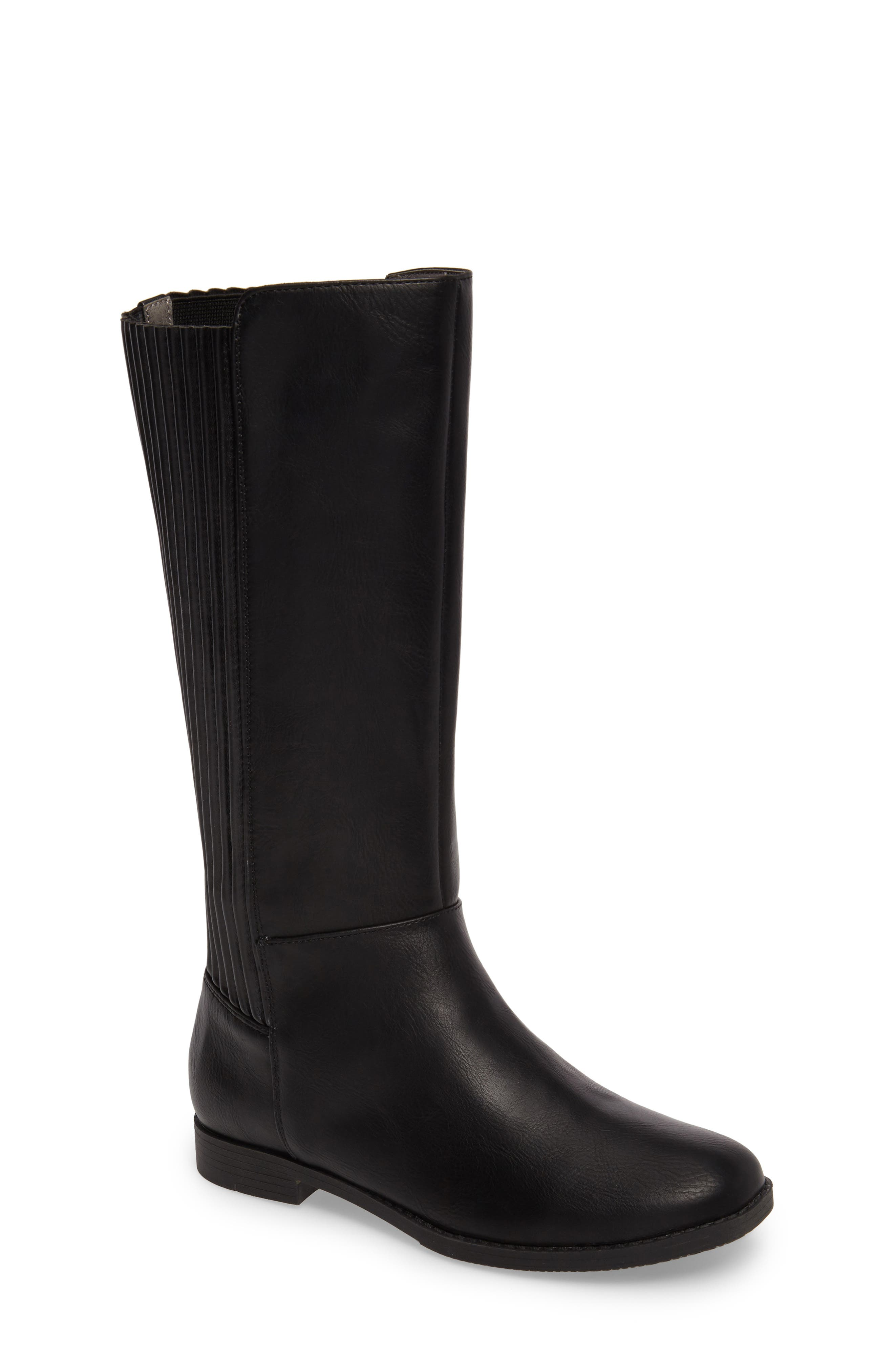 Kennedy Pleated Riding Boot,                         Main,                         color,