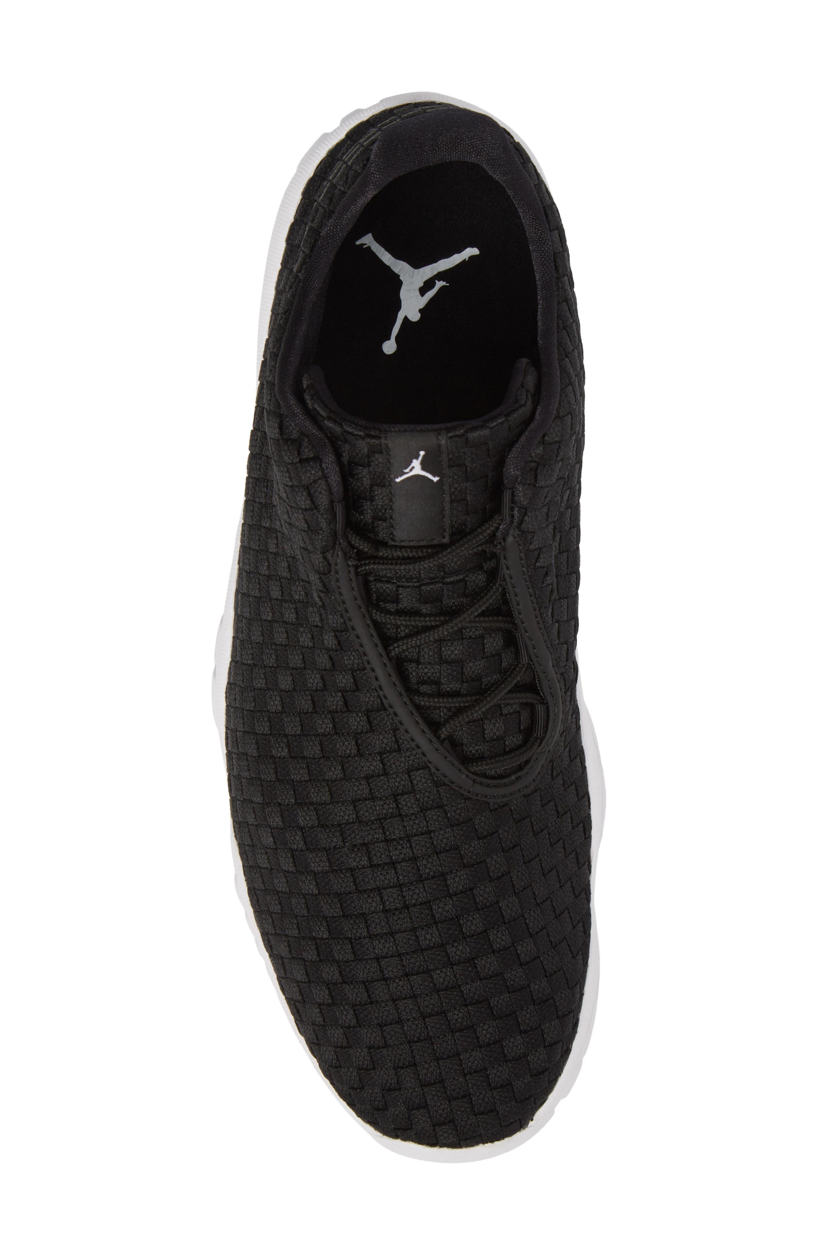 Air Jordan Future Woven Sneaker,                             Alternate thumbnail 5, color,                             002