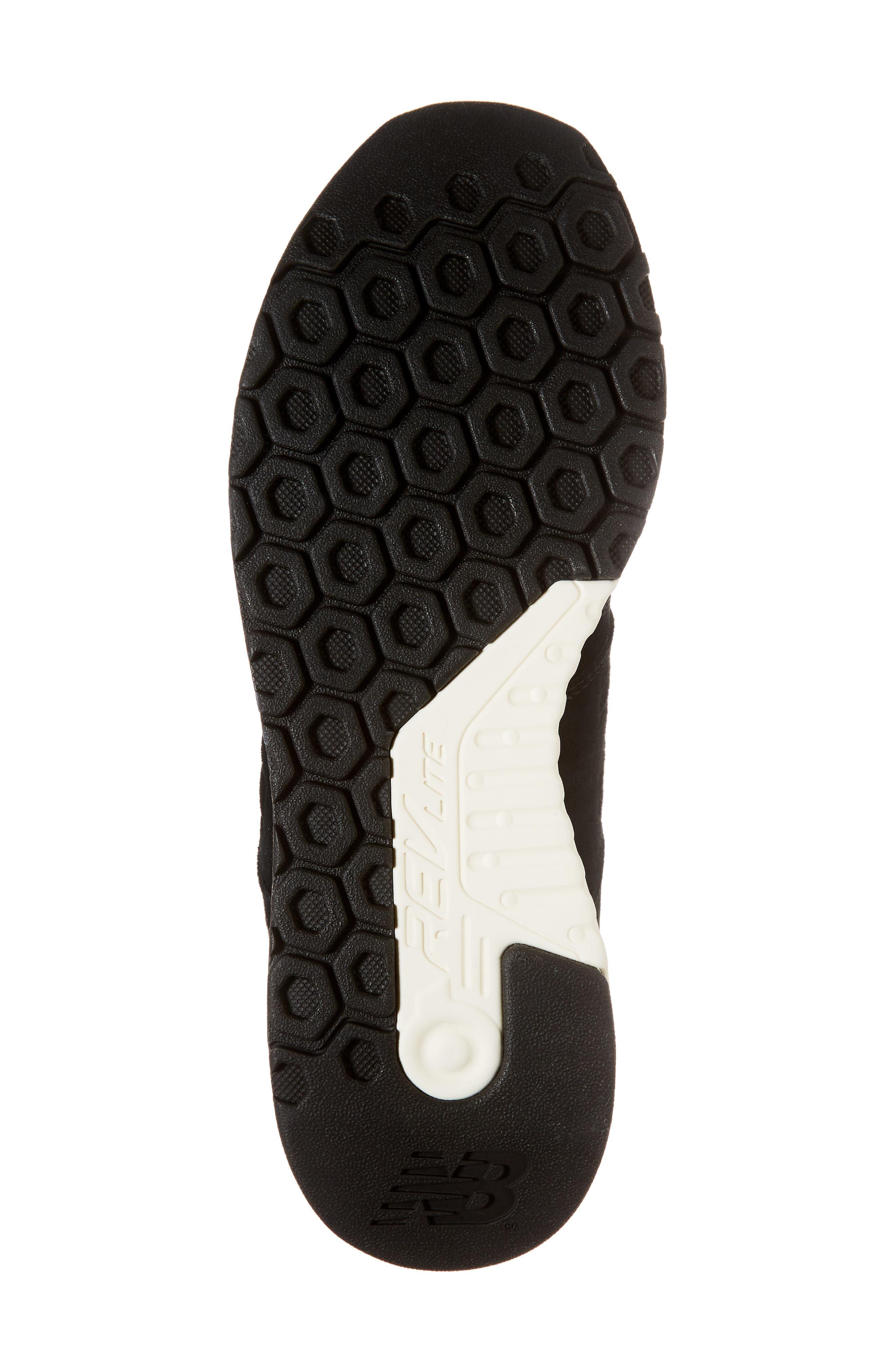 247 Luxe Sneaker,                             Alternate thumbnail 6, color,                             BLACK