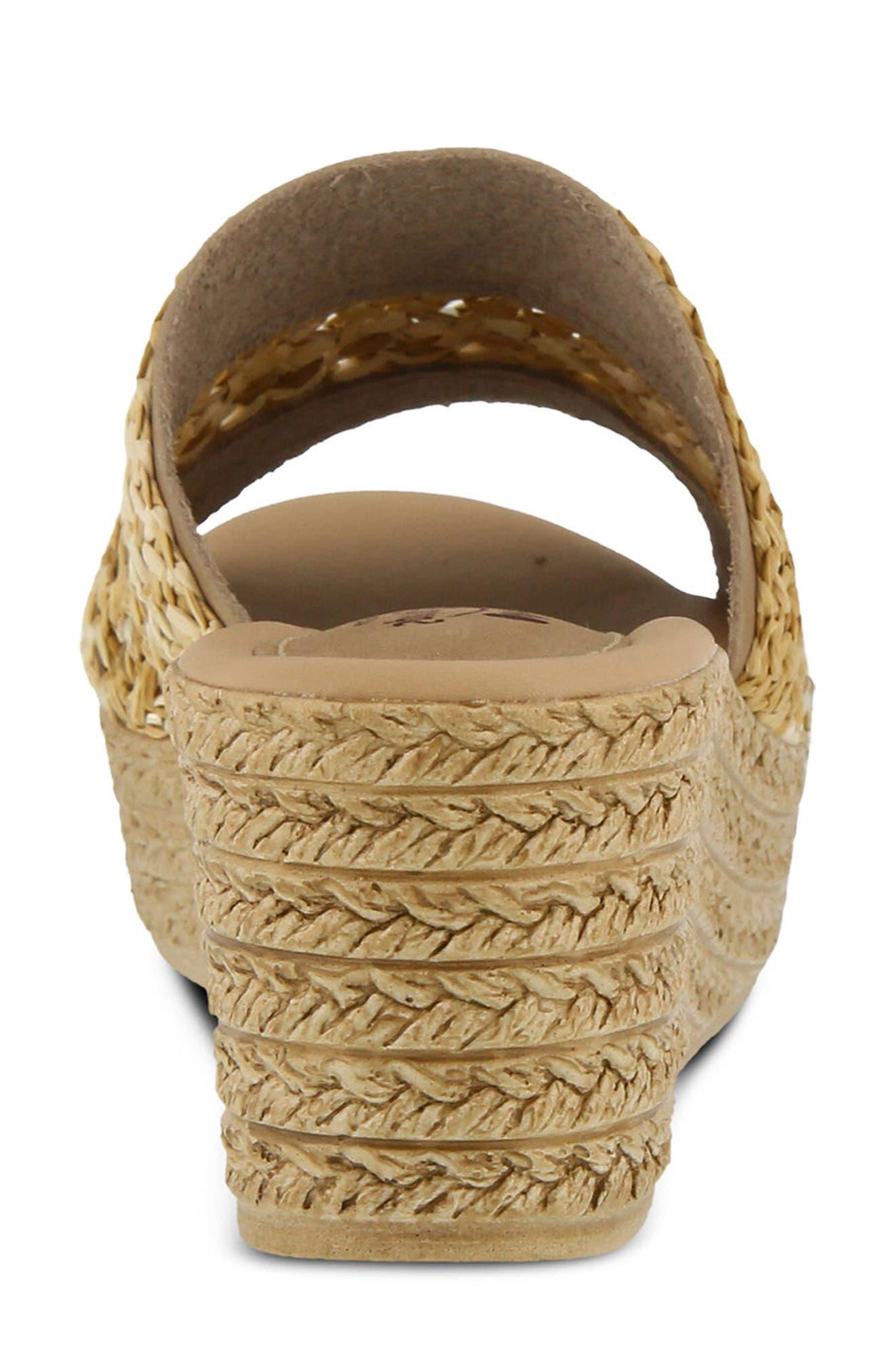 Calci Espadrille Wedge Sandal,                             Alternate thumbnail 17, color,