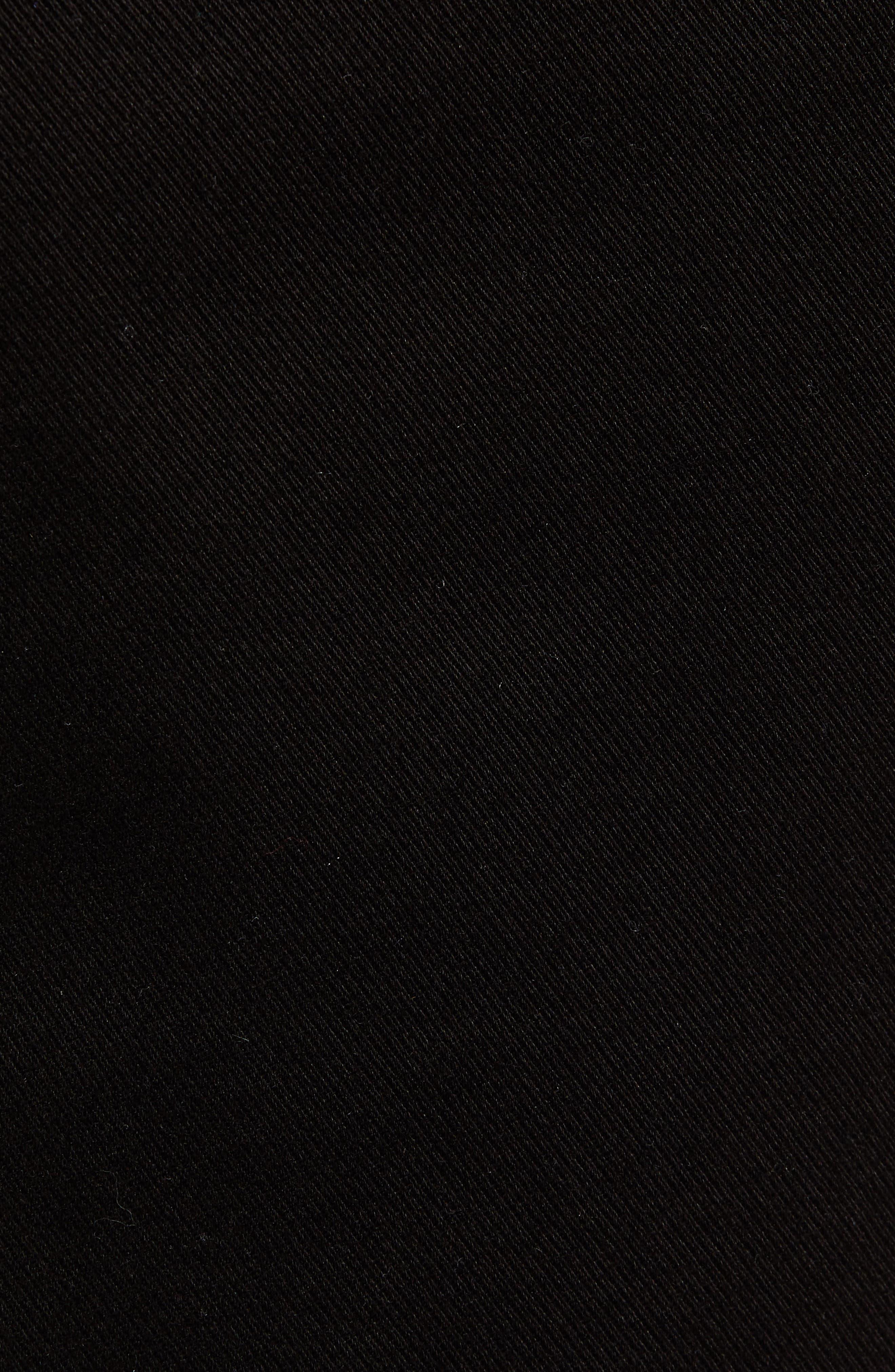 Hudson Leo Drop Crotch Pants,                             Alternate thumbnail 5, color,                             001