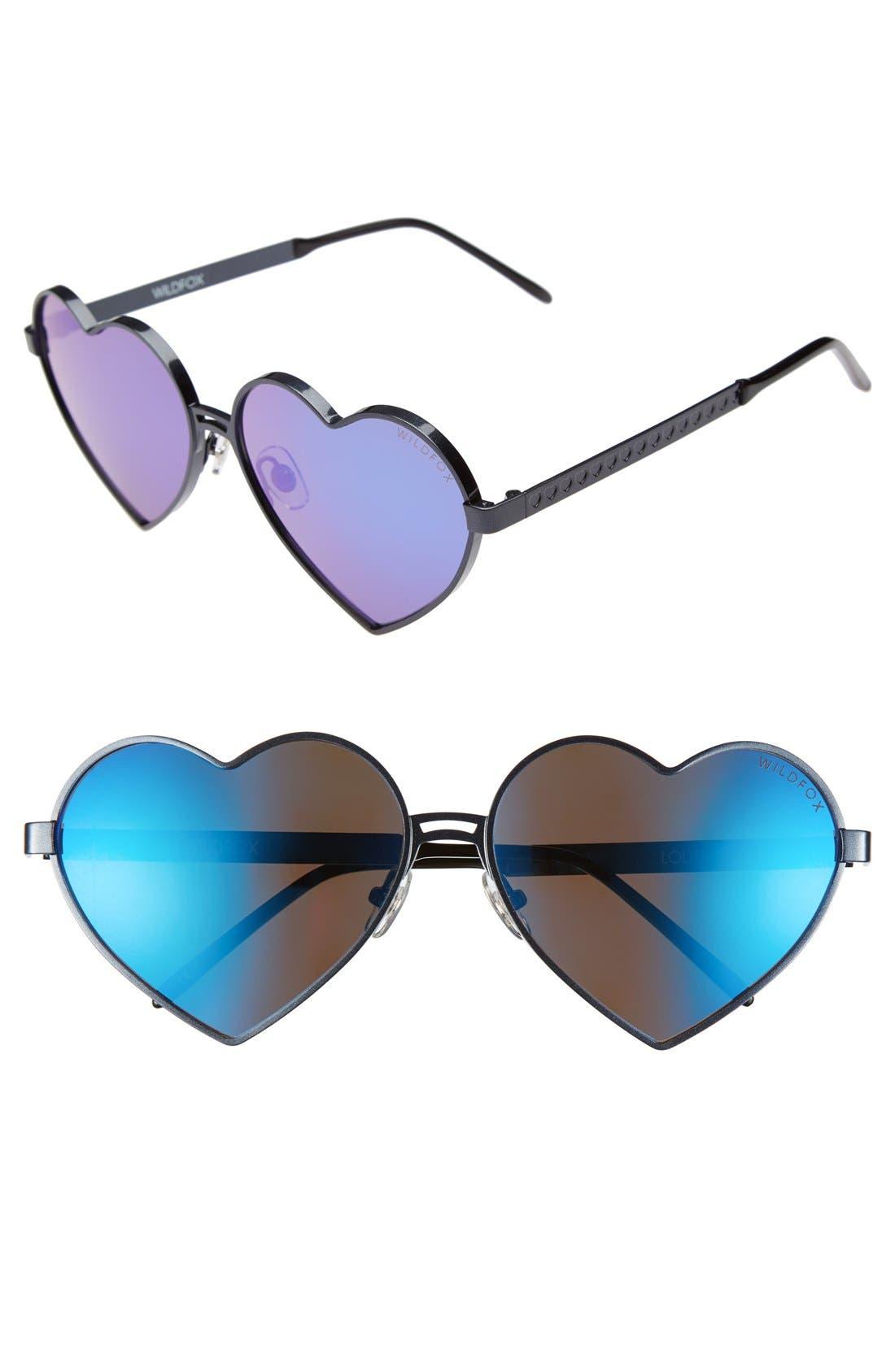 'Lolita Deluxe' 59mm Sunglasses,                         Main,                         color, 001