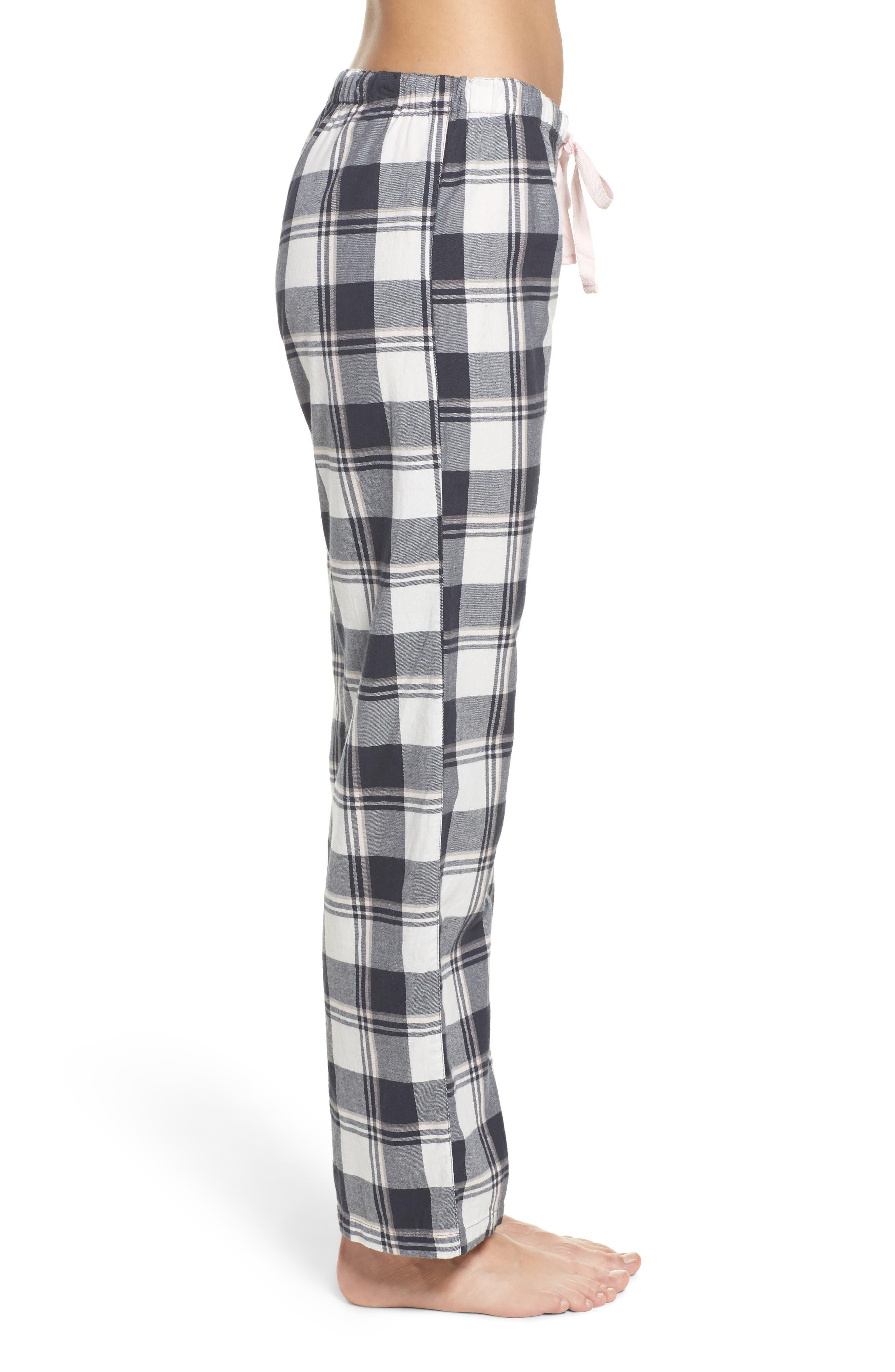 Plaid Pajama Pants,                             Alternate thumbnail 3, color,                             900