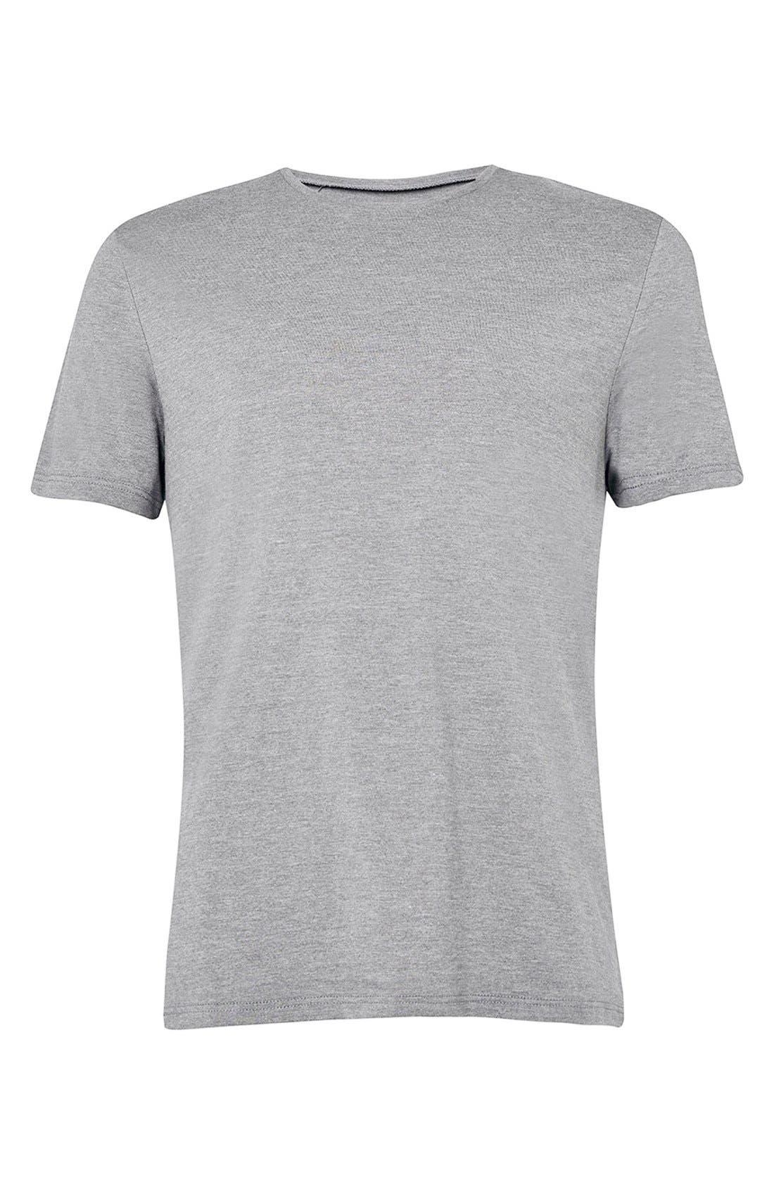 Slim Fit Crewneck T-Shirt,                             Alternate thumbnail 426, color,