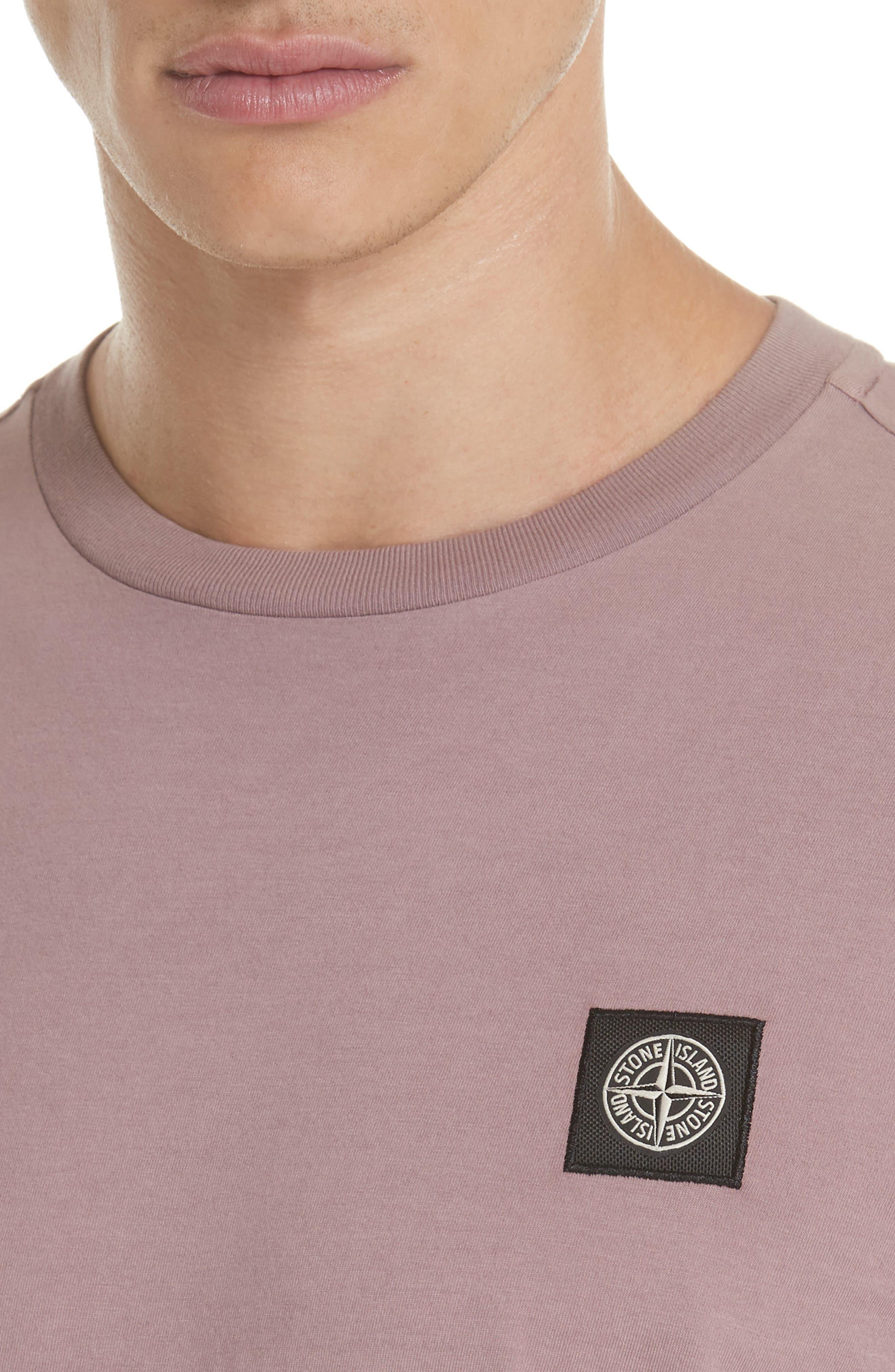 Long Sleeve T-Shirt,                             Alternate thumbnail 4, color,                             ROSE QUARTZ