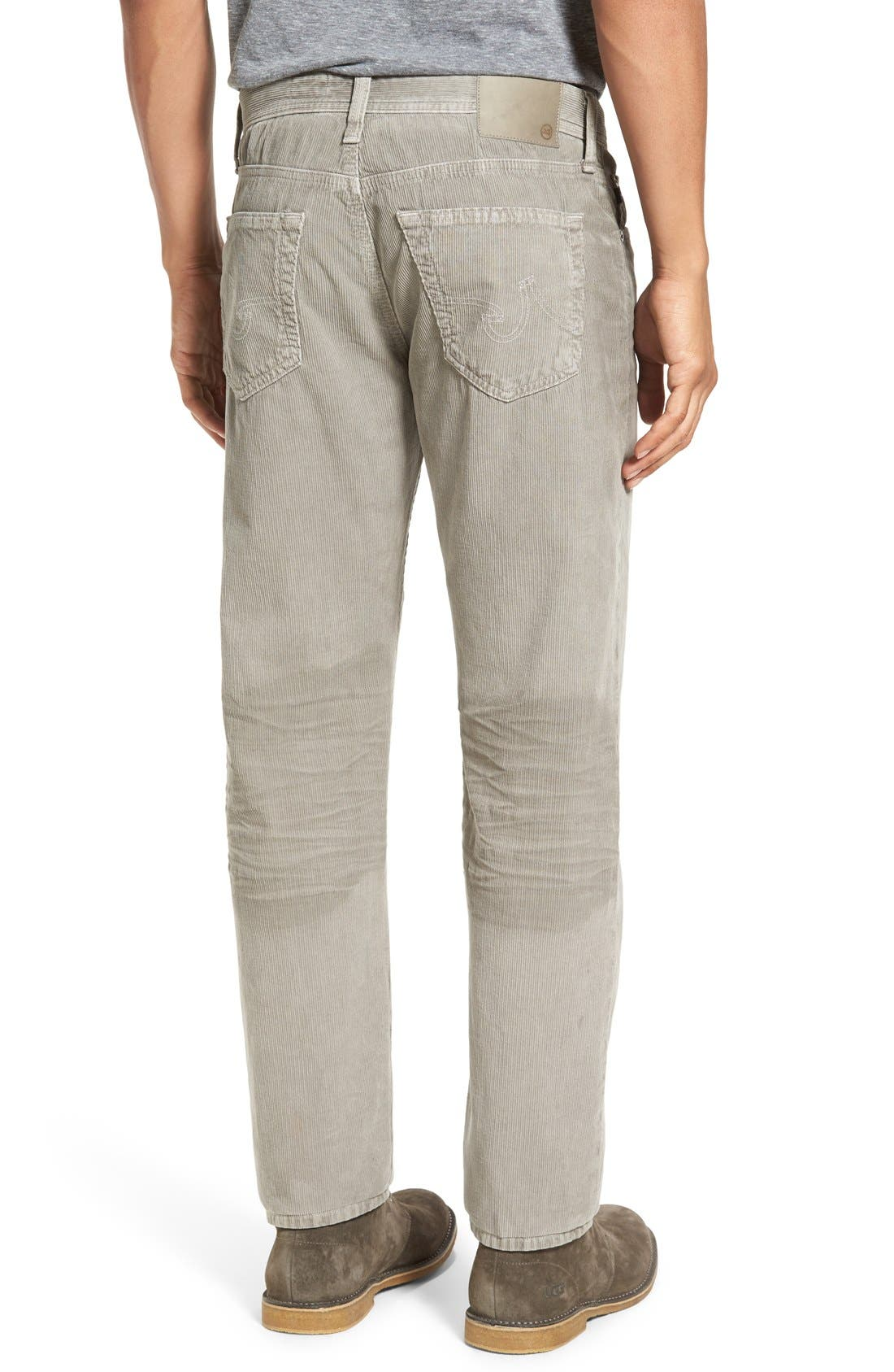 'Graduate' Tailored Straight Leg Corduroy Pants,                             Alternate thumbnail 26, color,