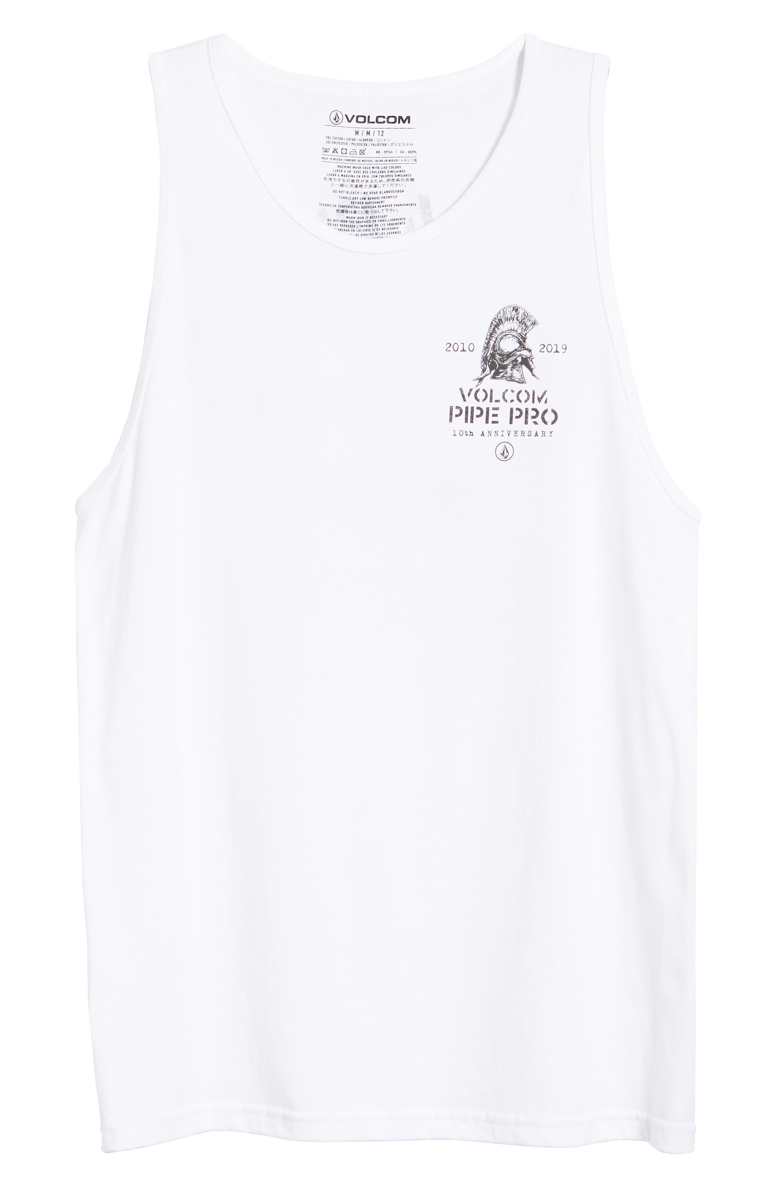 Pipe Pro Crest Graphic Tank,                             Alternate thumbnail 6, color,                             100