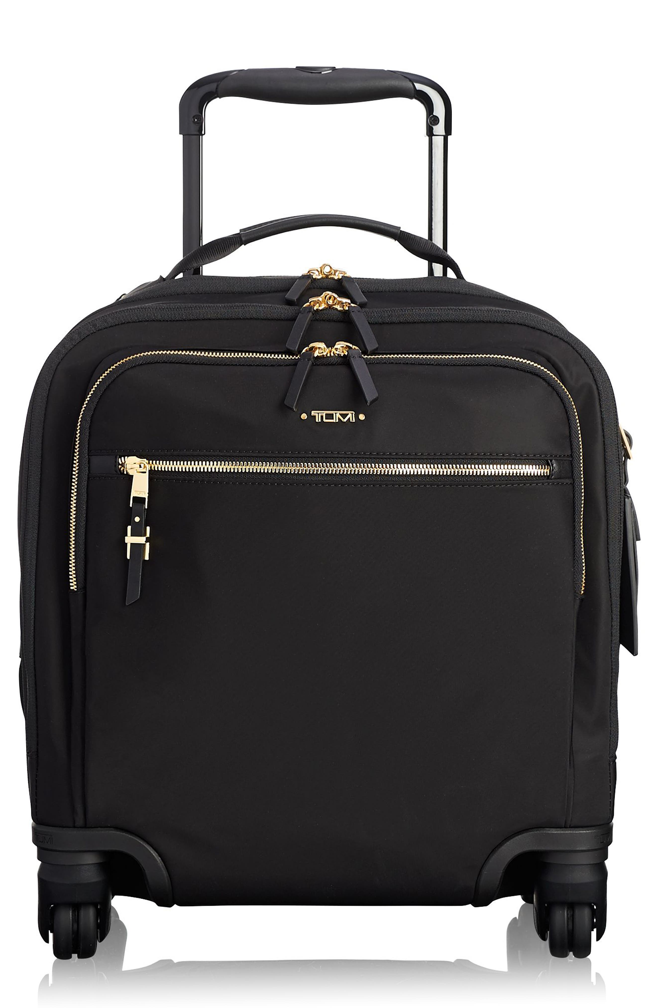 TUMI,                             Voyageur Osona 16-Inch Compact Carry-On,                             Main thumbnail 1, color,                             BLACK