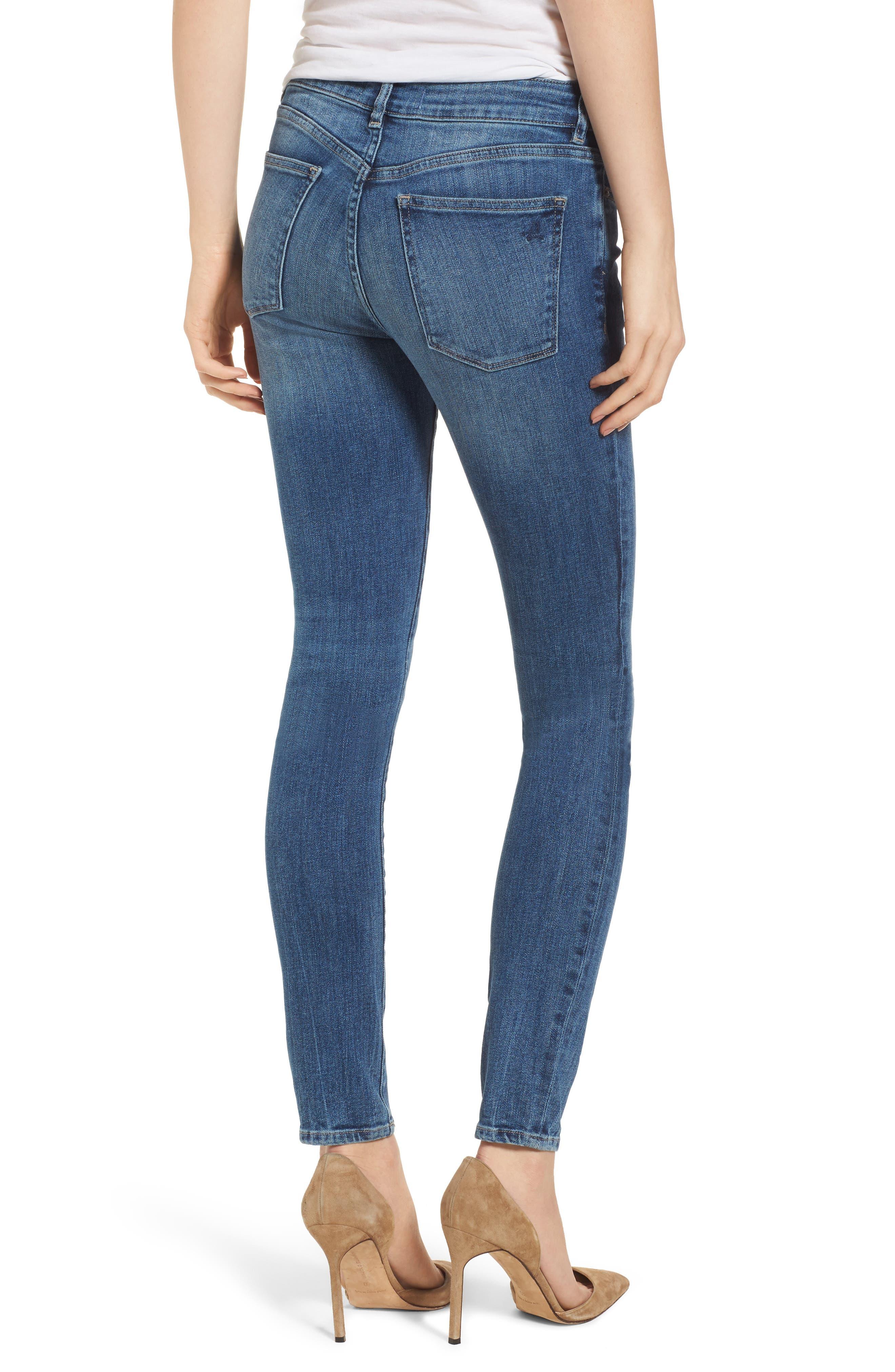 Florence Instasculpt Skinny Jeans,                             Alternate thumbnail 2, color,                             405