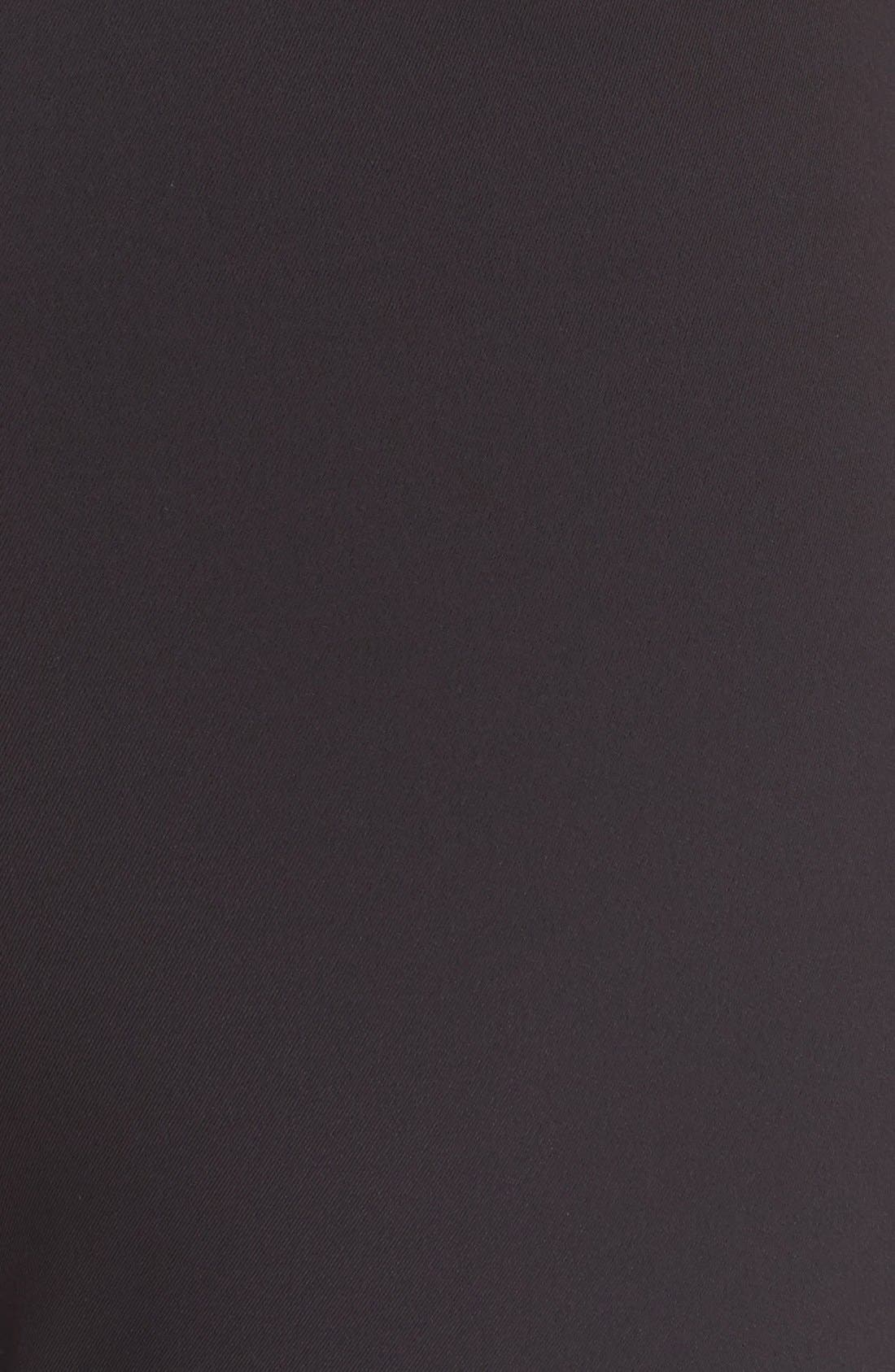 'Navalane Becker' Stretch Ponte Skinny Pants,                             Alternate thumbnail 5, color,                             001