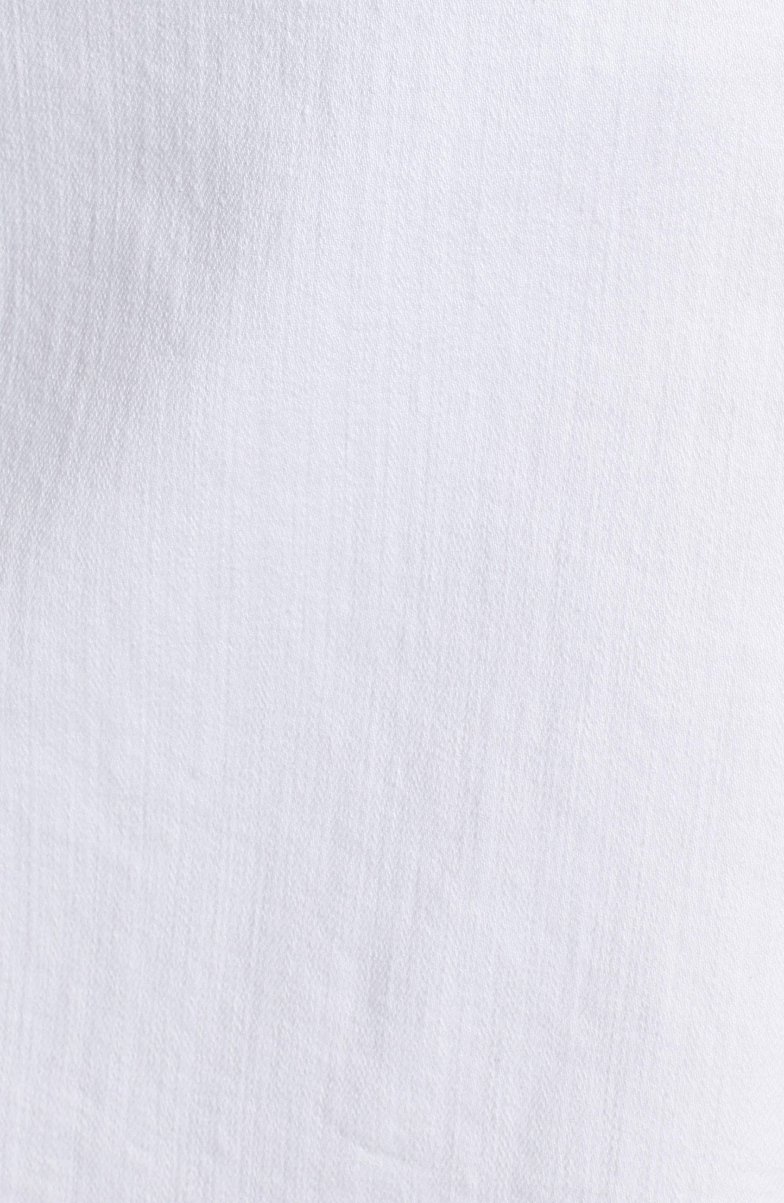 Button Detail Denim Skirt,                             Alternate thumbnail 6, color,                             100
