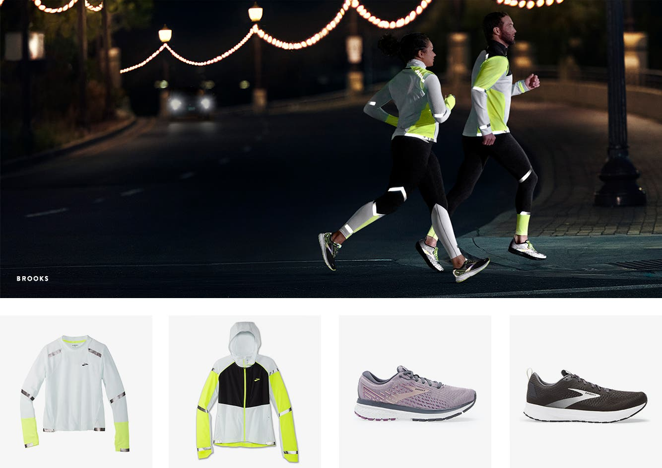 Get into gear: best-selling reflective running gear for extra safety.