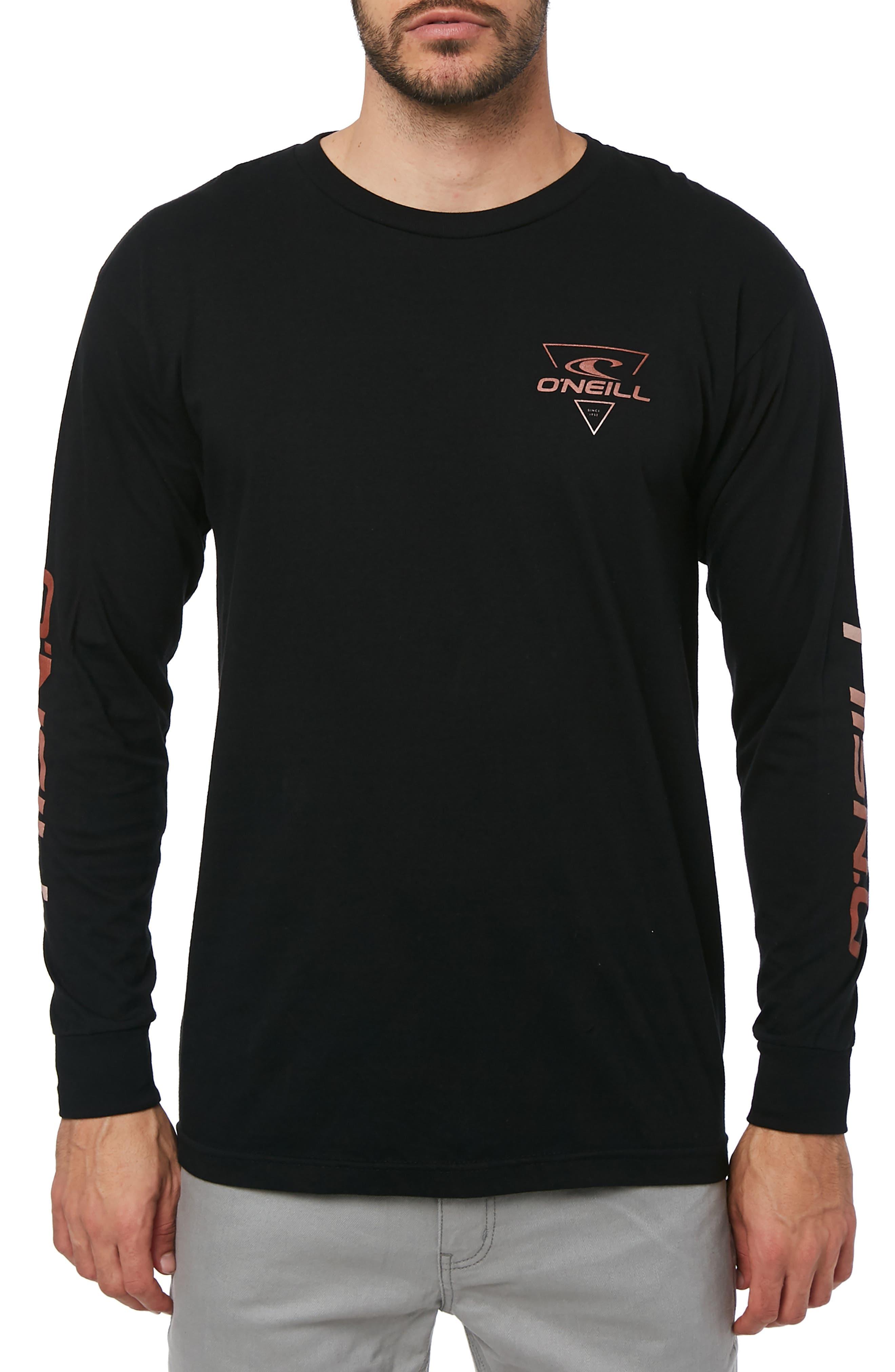 Fader Graphic T-Shirt,                             Main thumbnail 1, color,                             BLACK