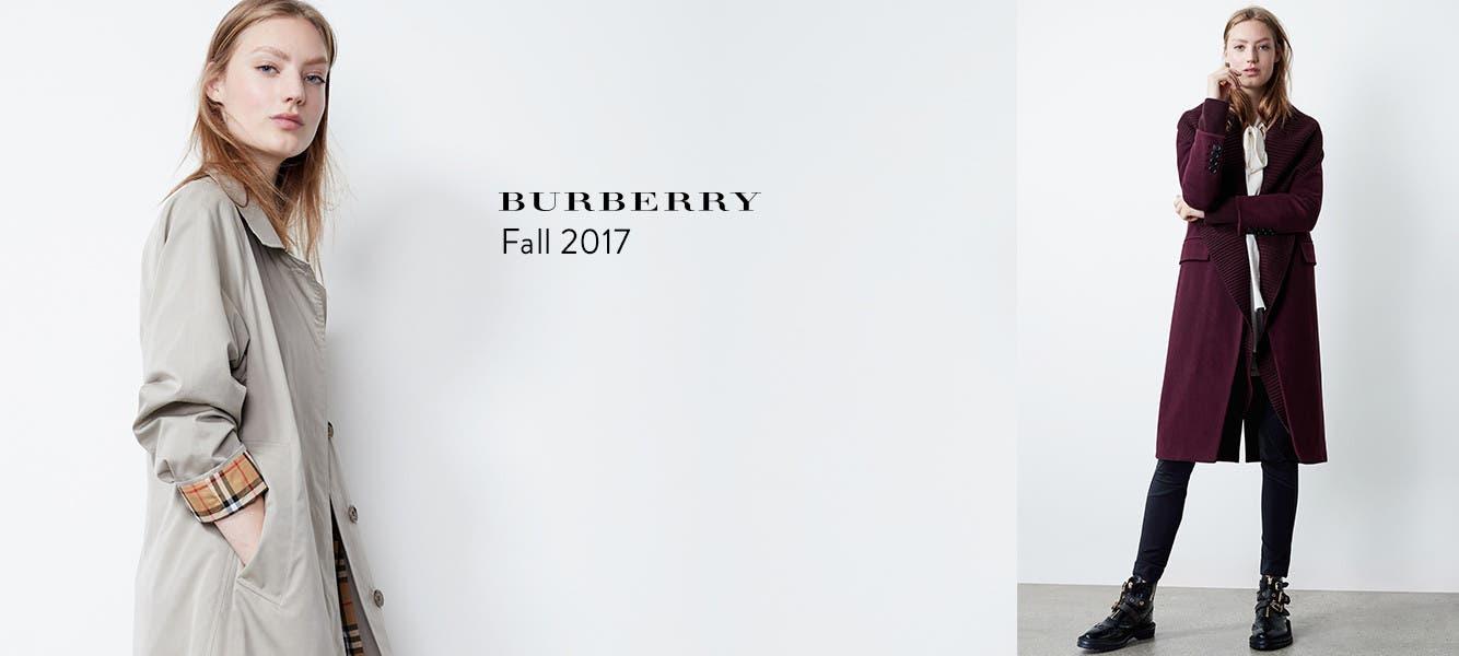 Burberry fall 2017.