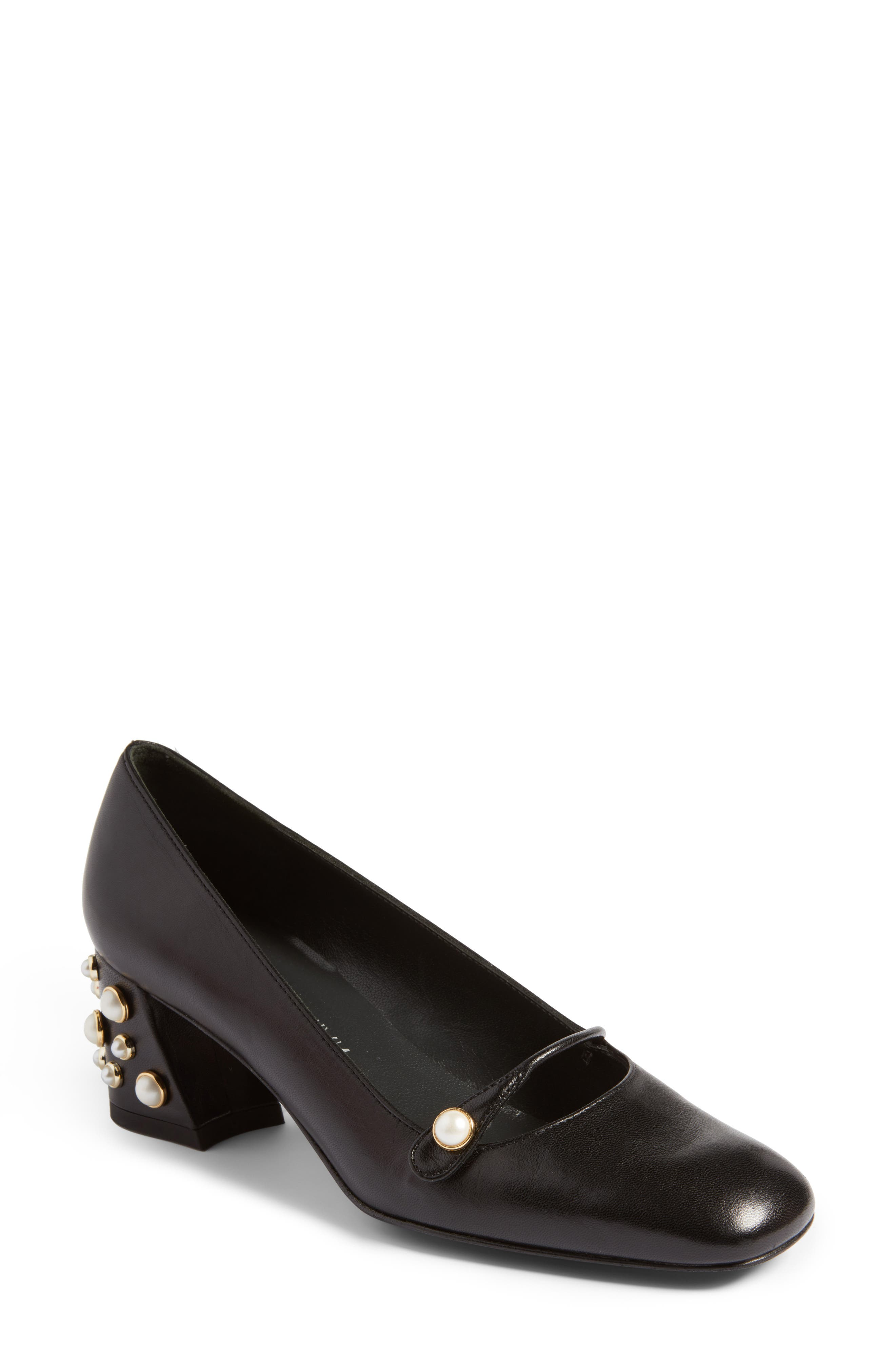 Pearlstrap Pump,                             Main thumbnail 1, color,                             002