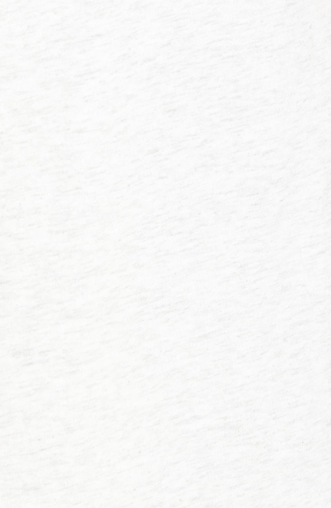 Long Cotton Blend Cardigan,                             Alternate thumbnail 6, color,                             057