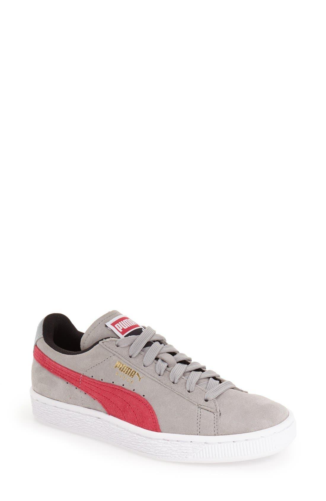 Suede Sneaker,                             Main thumbnail 9, color,