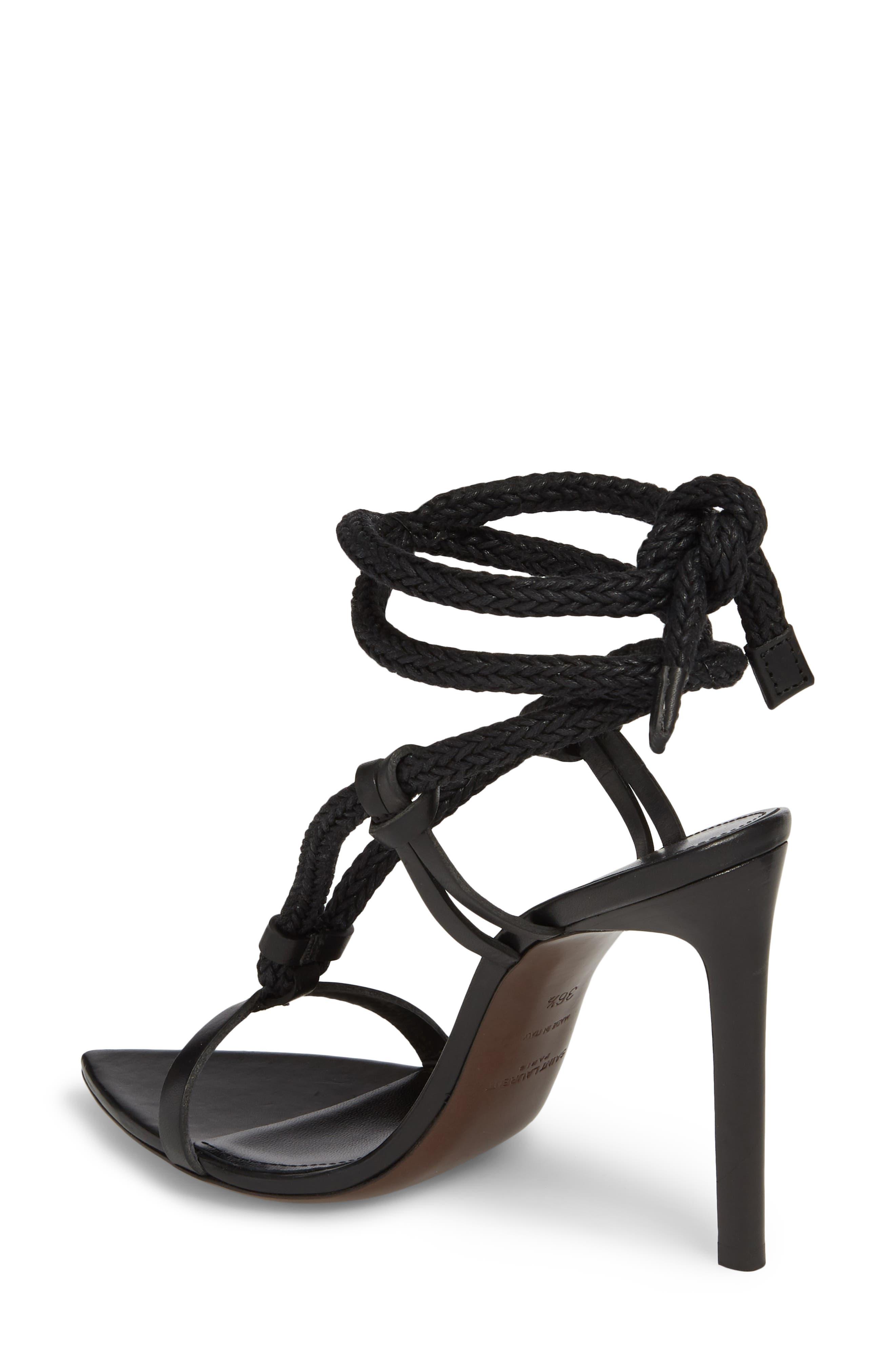 Majorelle Ankle Tie Sandal,                             Alternate thumbnail 2, color,                             001