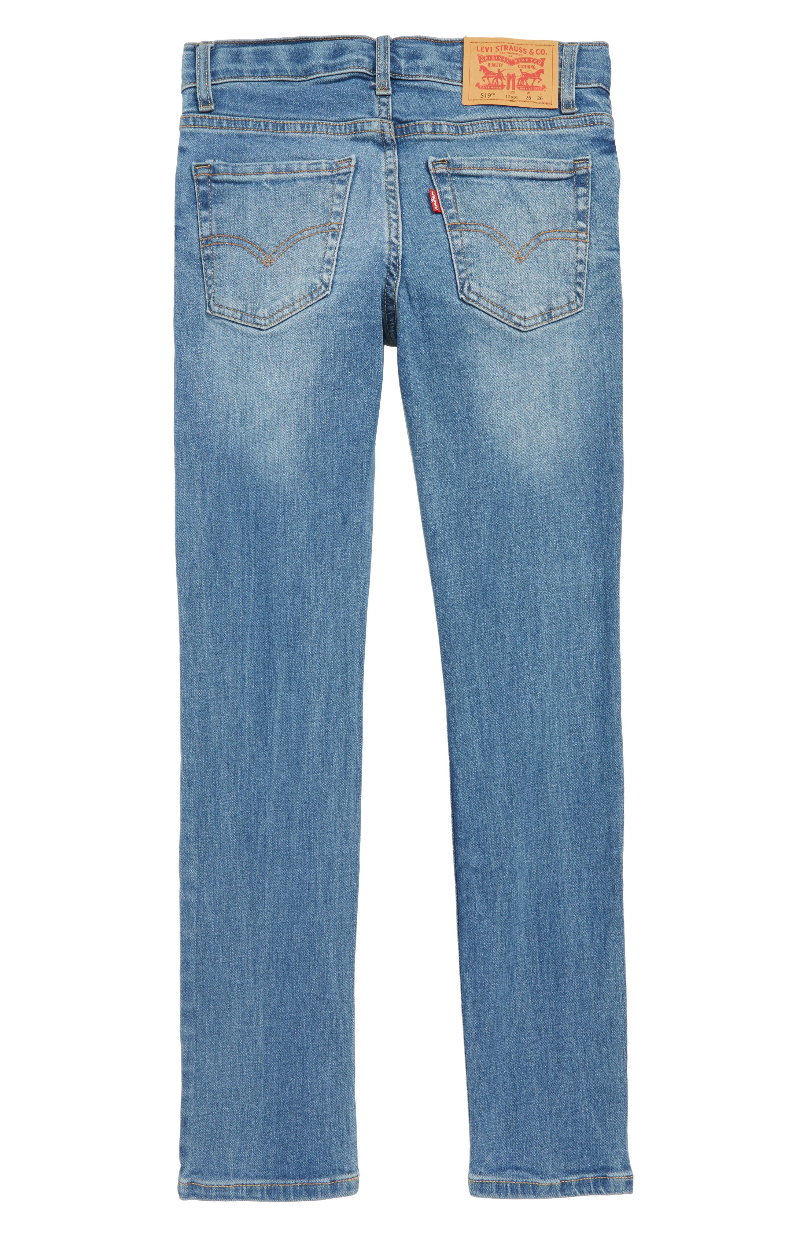 519<sup>™</sup> Extreme Skinny Fit Jeans,                             Alternate thumbnail 2, color,                             PALISADES