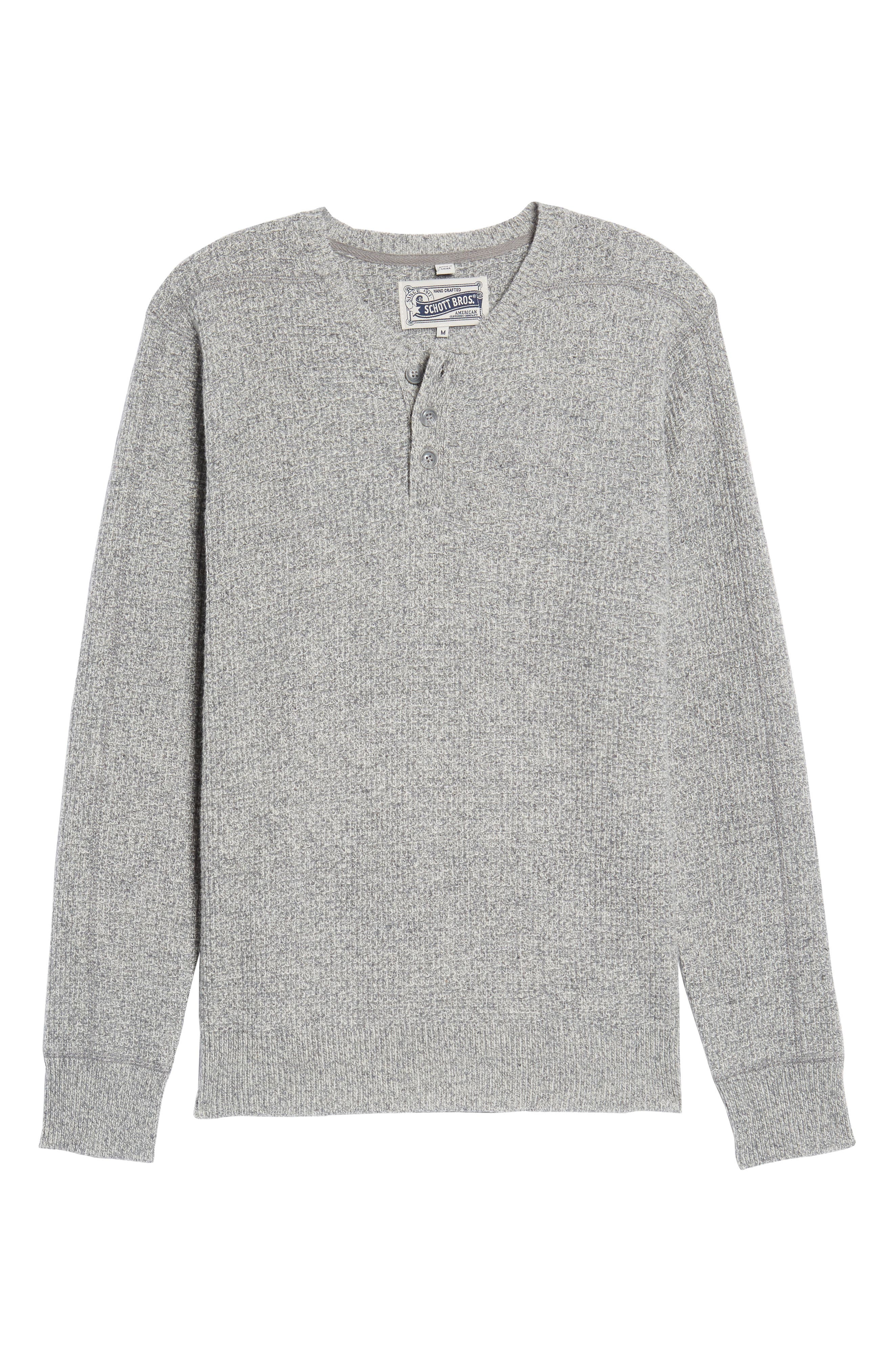 Thermal Henley,                             Alternate thumbnail 37, color,