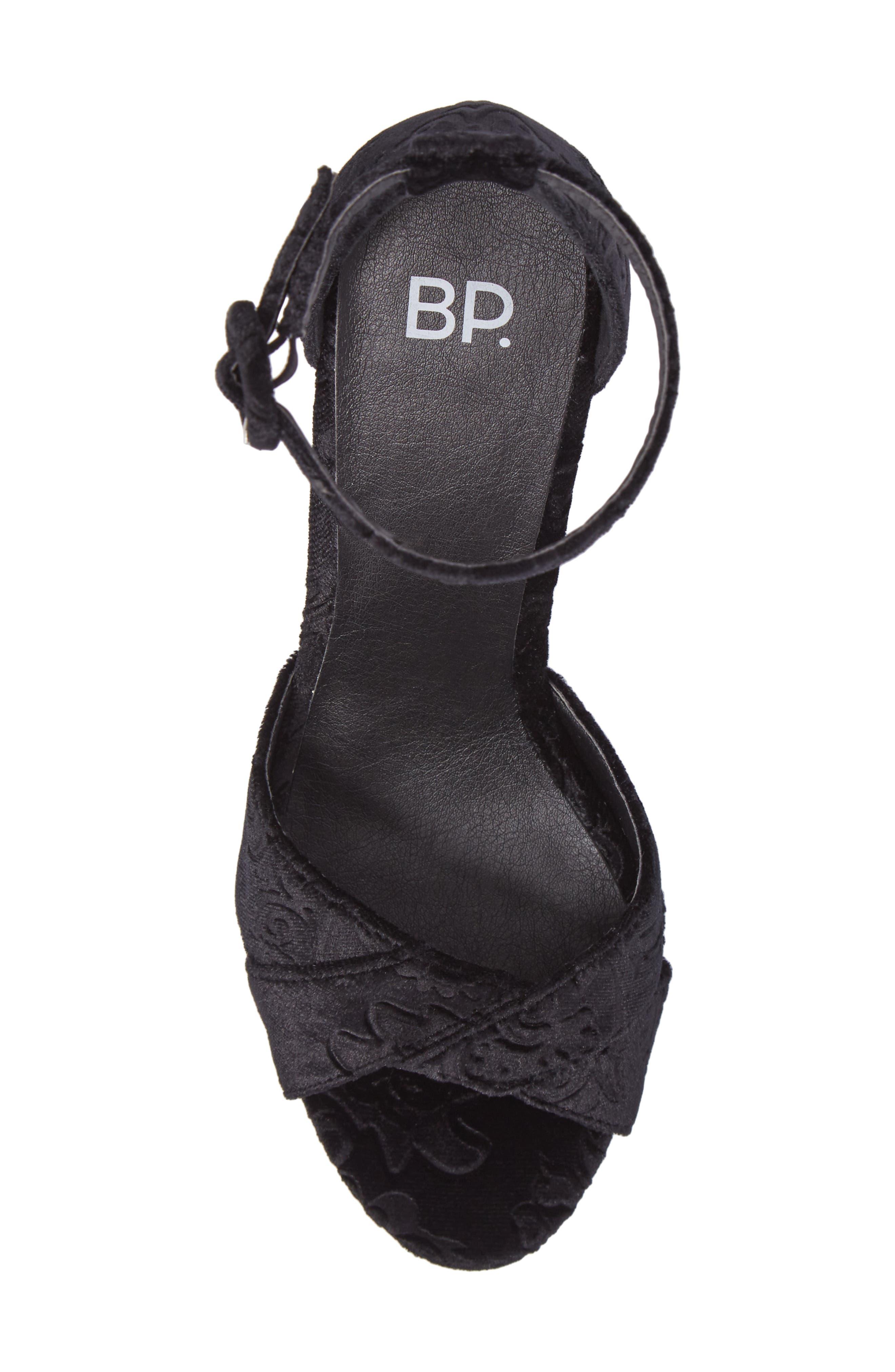 BP Casey Ankle Strap Sandal,                             Alternate thumbnail 5, color,                             006