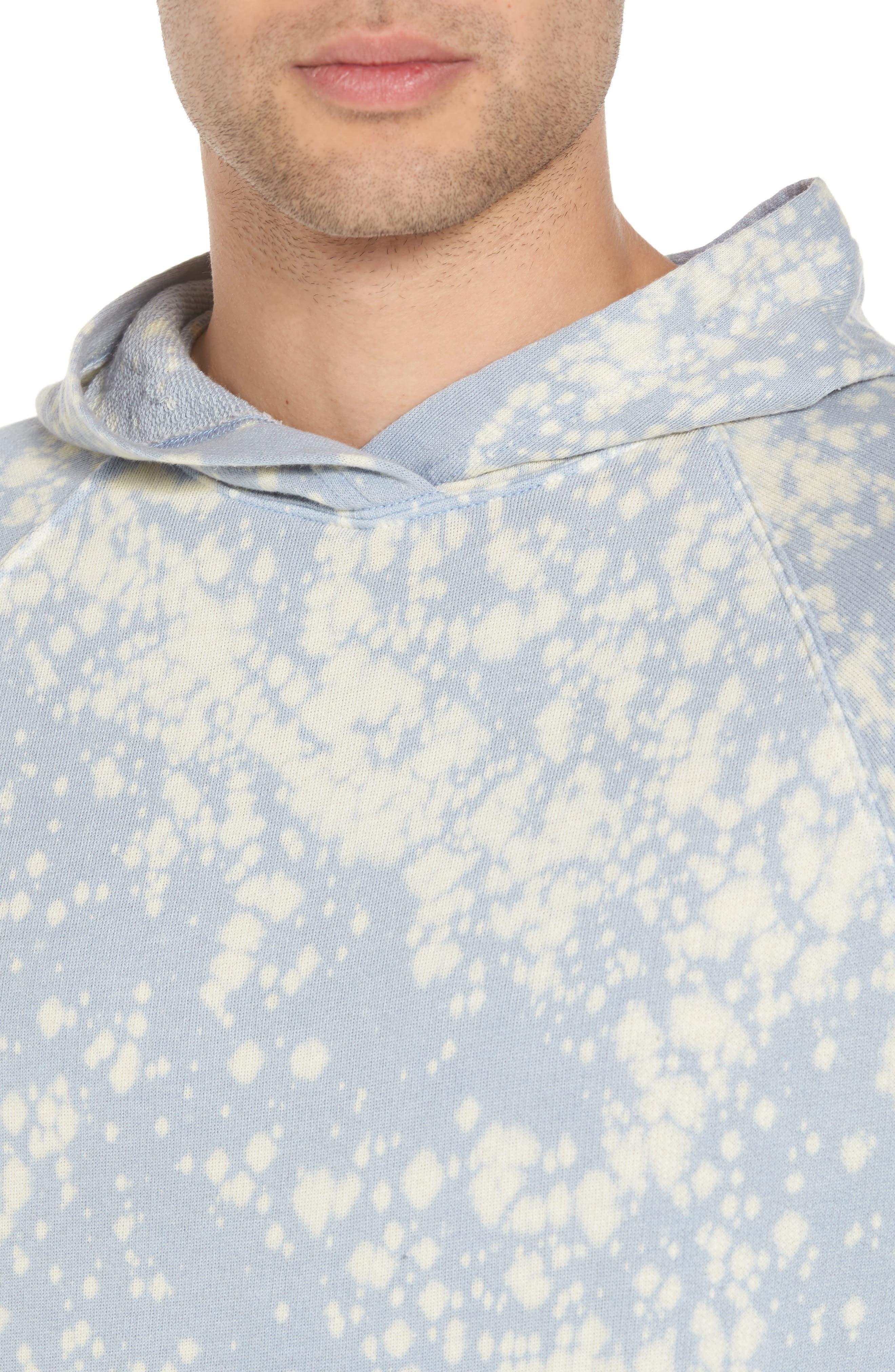 Bleached Hoodie Sweatshirt,                             Alternate thumbnail 4, color,                             450