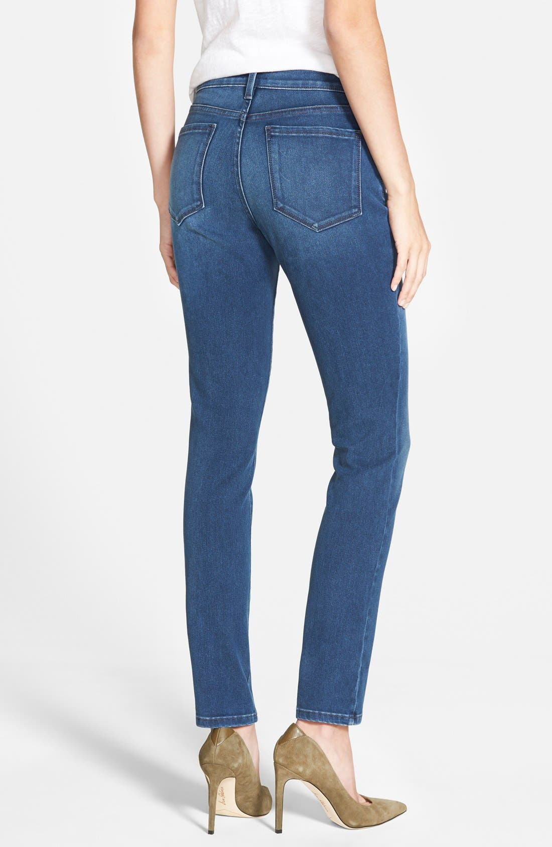 Alina Colored Stretch Skinny Jeans,                             Alternate thumbnail 62, color,