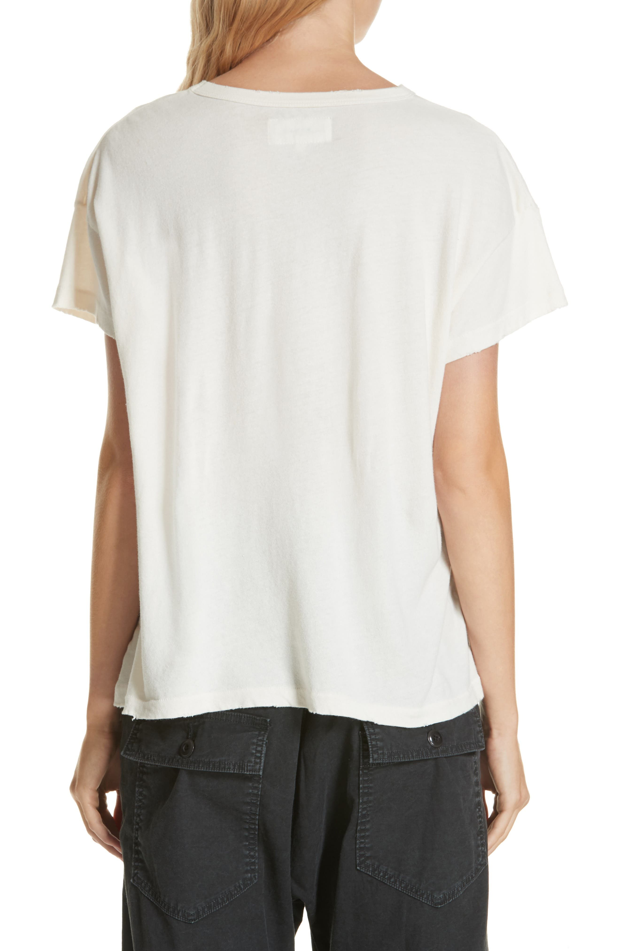 The Boxy Graphic Tee,                             Alternate thumbnail 4, color,
