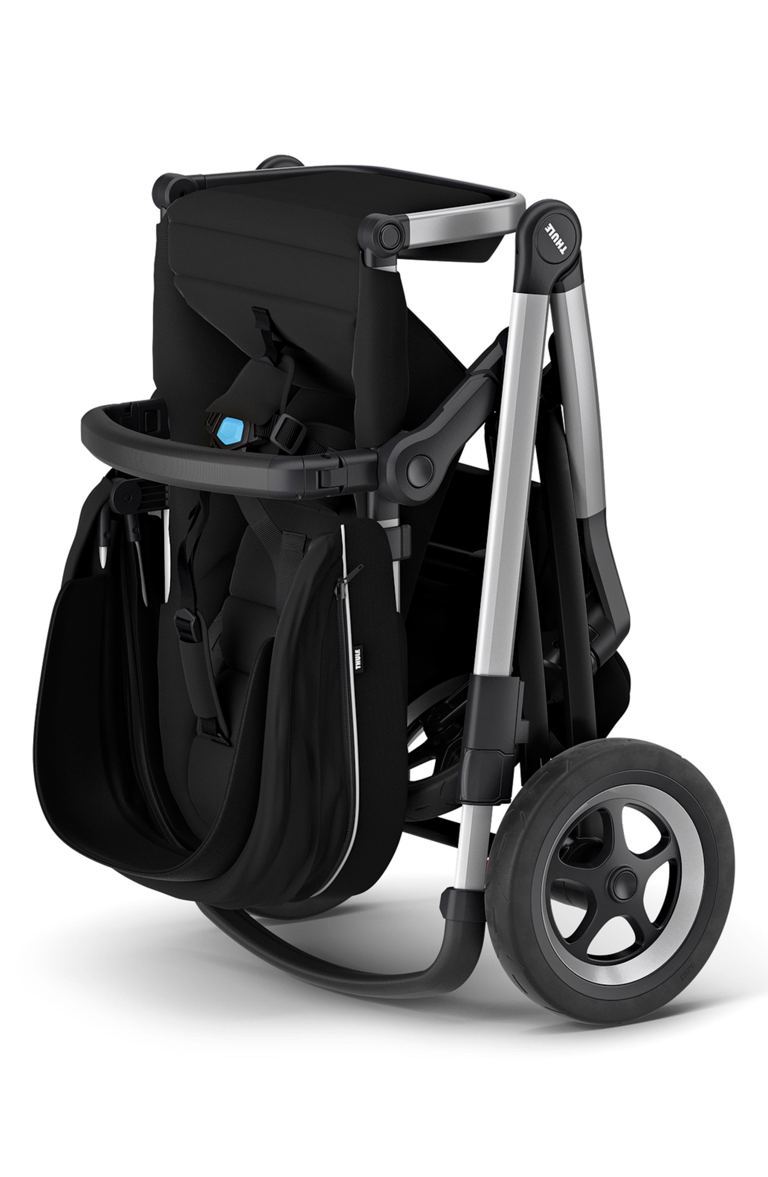 2018 Sleek City Stroller,                             Alternate thumbnail 2, color,                             BLACK