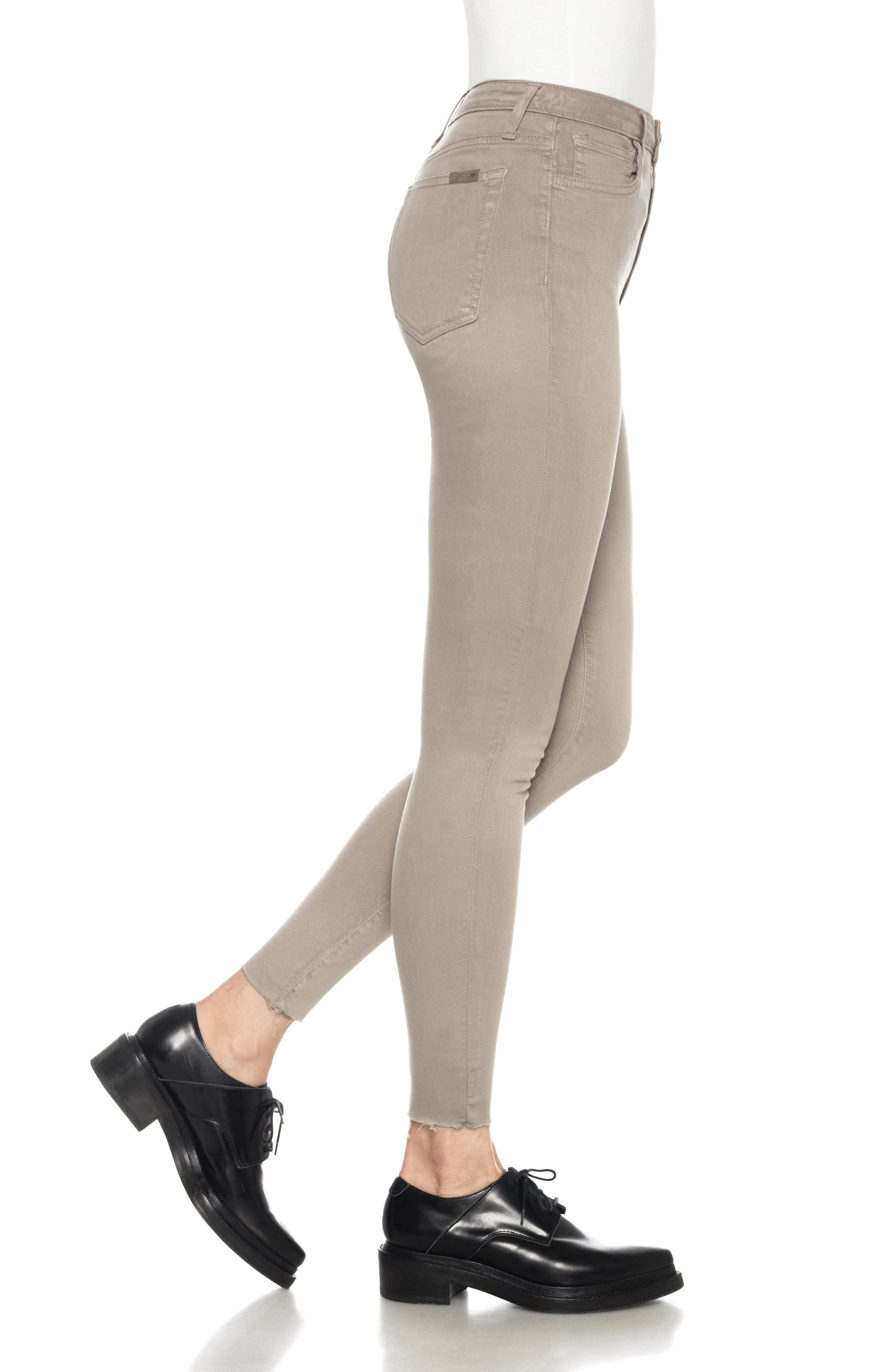 Charlie High Rise Ankle Skinny Jeans,                             Alternate thumbnail 22, color,