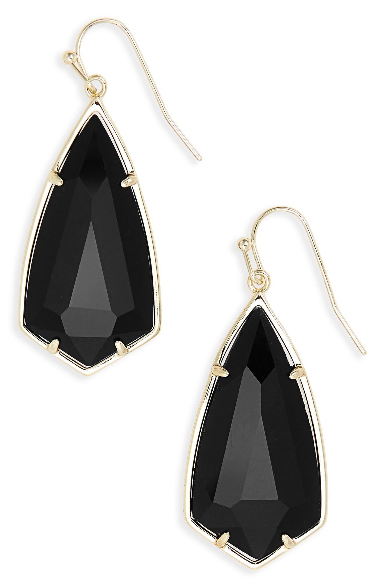 Carla Semiprecious Stone Drop Earrings,                             Main thumbnail 1, color,                             003