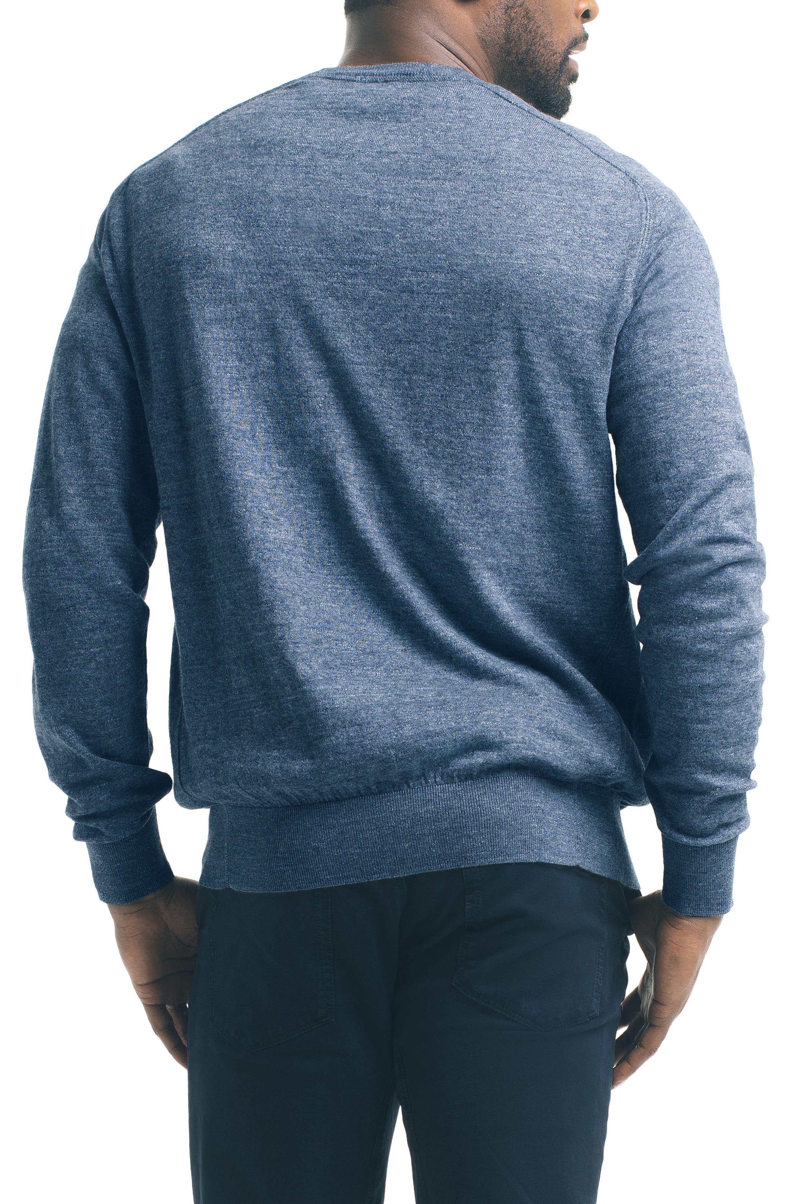 Slub Pullover Sweater,                             Alternate thumbnail 6, color,
