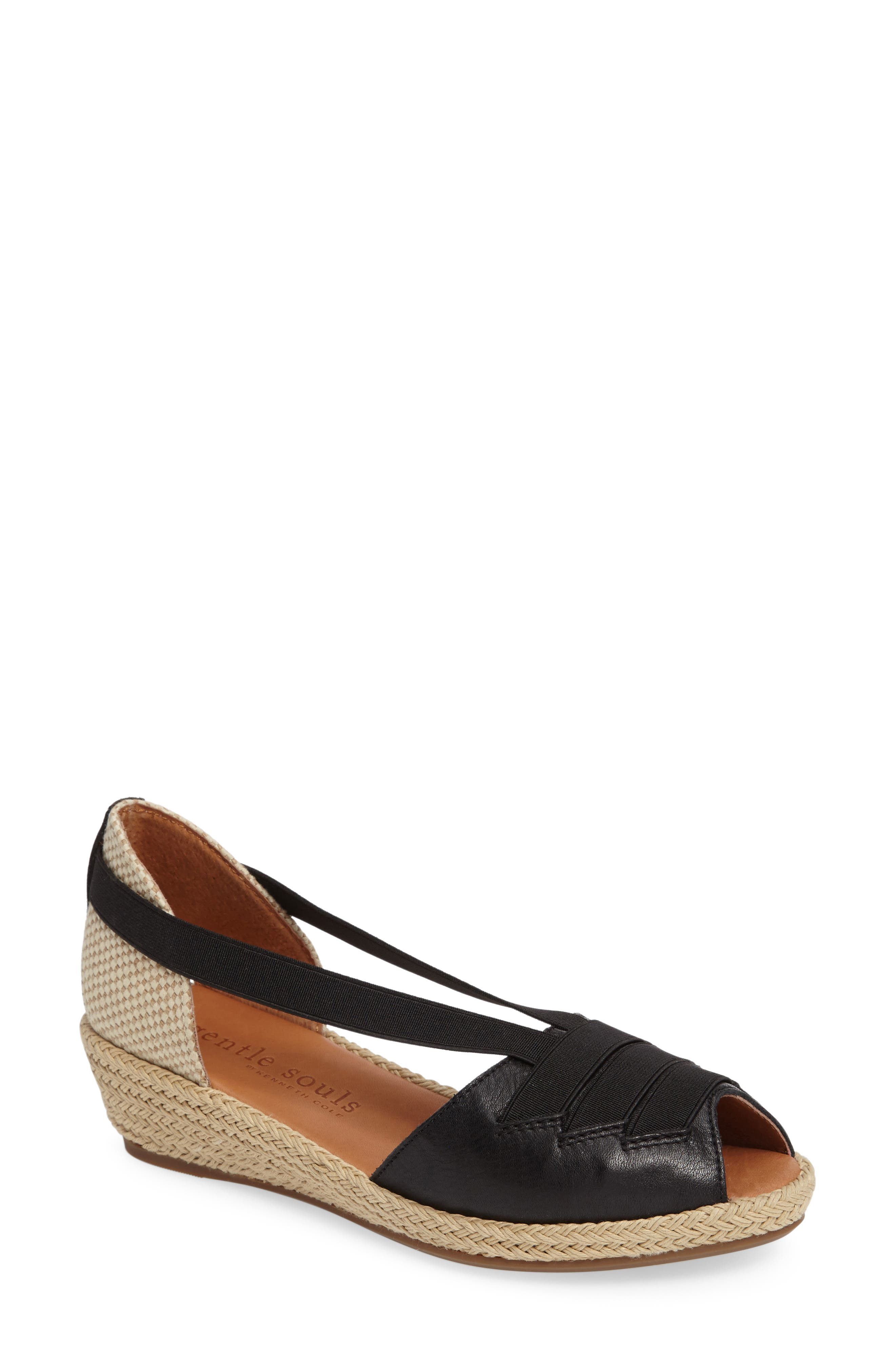 by Kenneth Cole Luci Wedge Sandal,                             Main thumbnail 2, color,