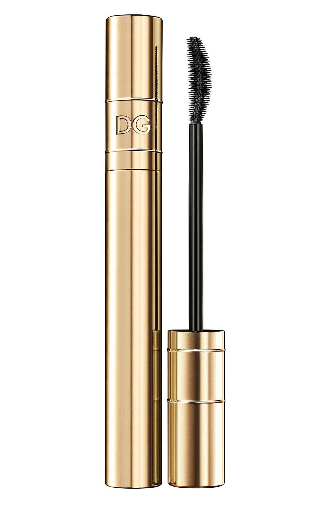 DOLCE&GABBANA BEAUTY,                             Passioneyes Curl & Volume Mascara,                             Main thumbnail 1, color,                             001
