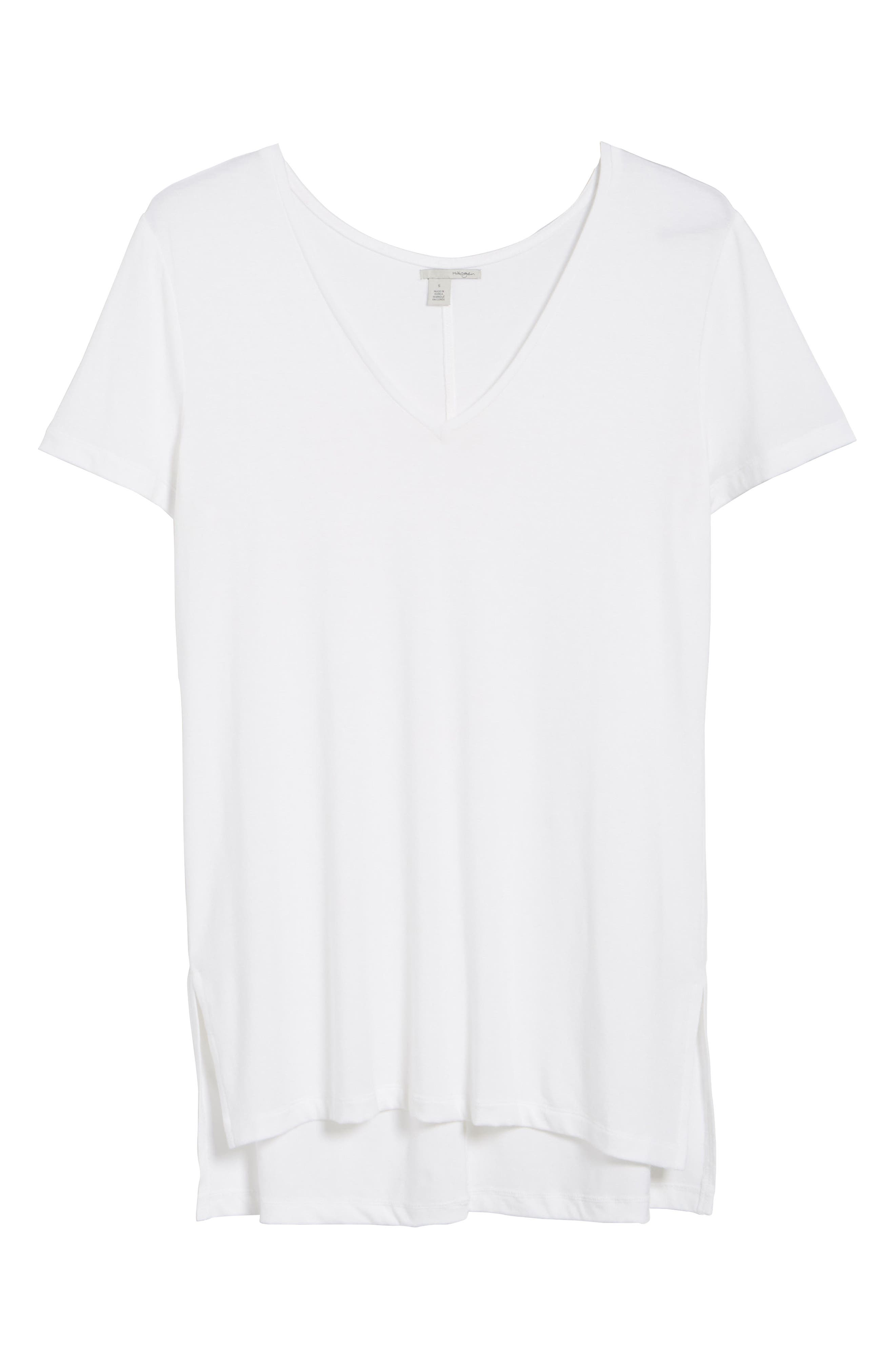 V-Neck Tunic Tee,                             Alternate thumbnail 68, color,