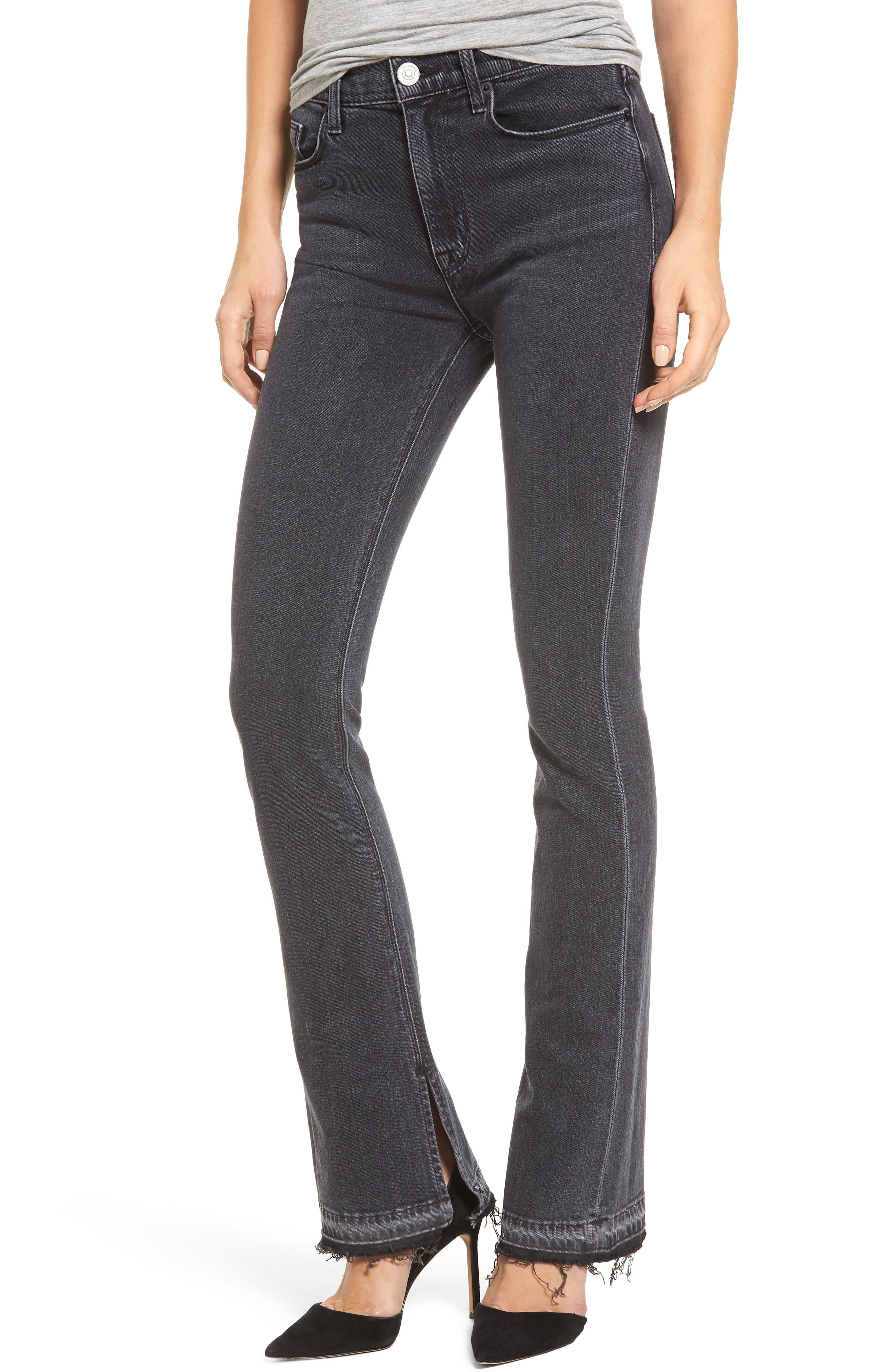 Heartbreaker High Waist Bootcut Jeans,                         Main,                         color, 001