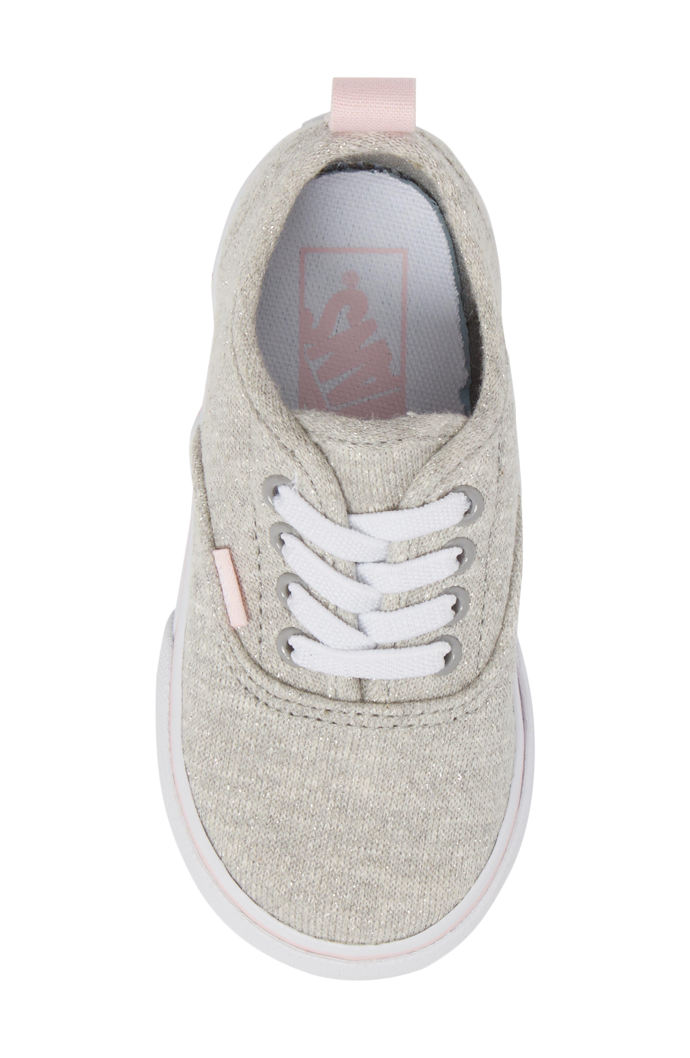 Authentic Glitter Sneaker,                             Alternate thumbnail 5, color,                             030
