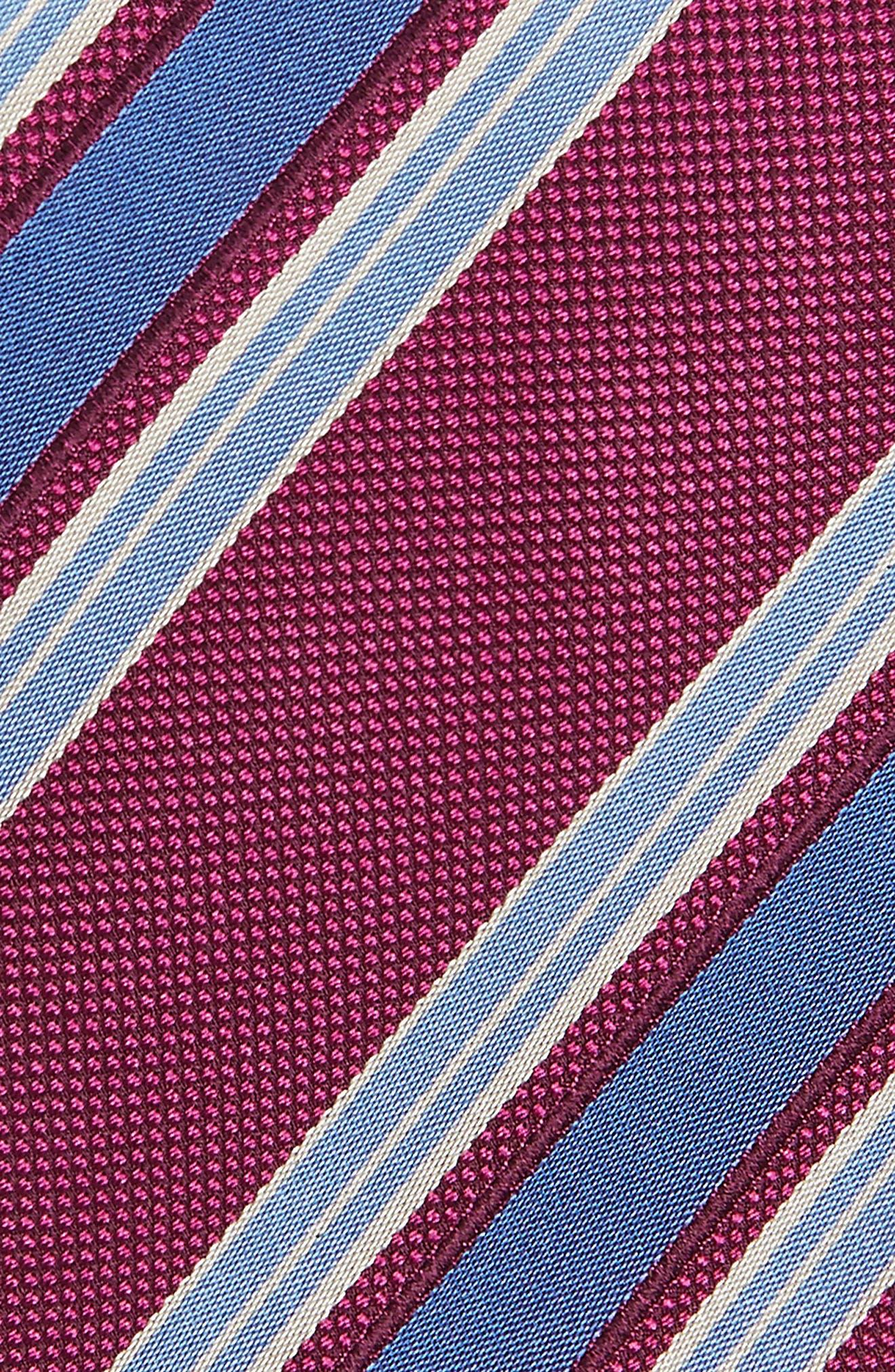 Stripe Silk Tie,                             Alternate thumbnail 9, color,