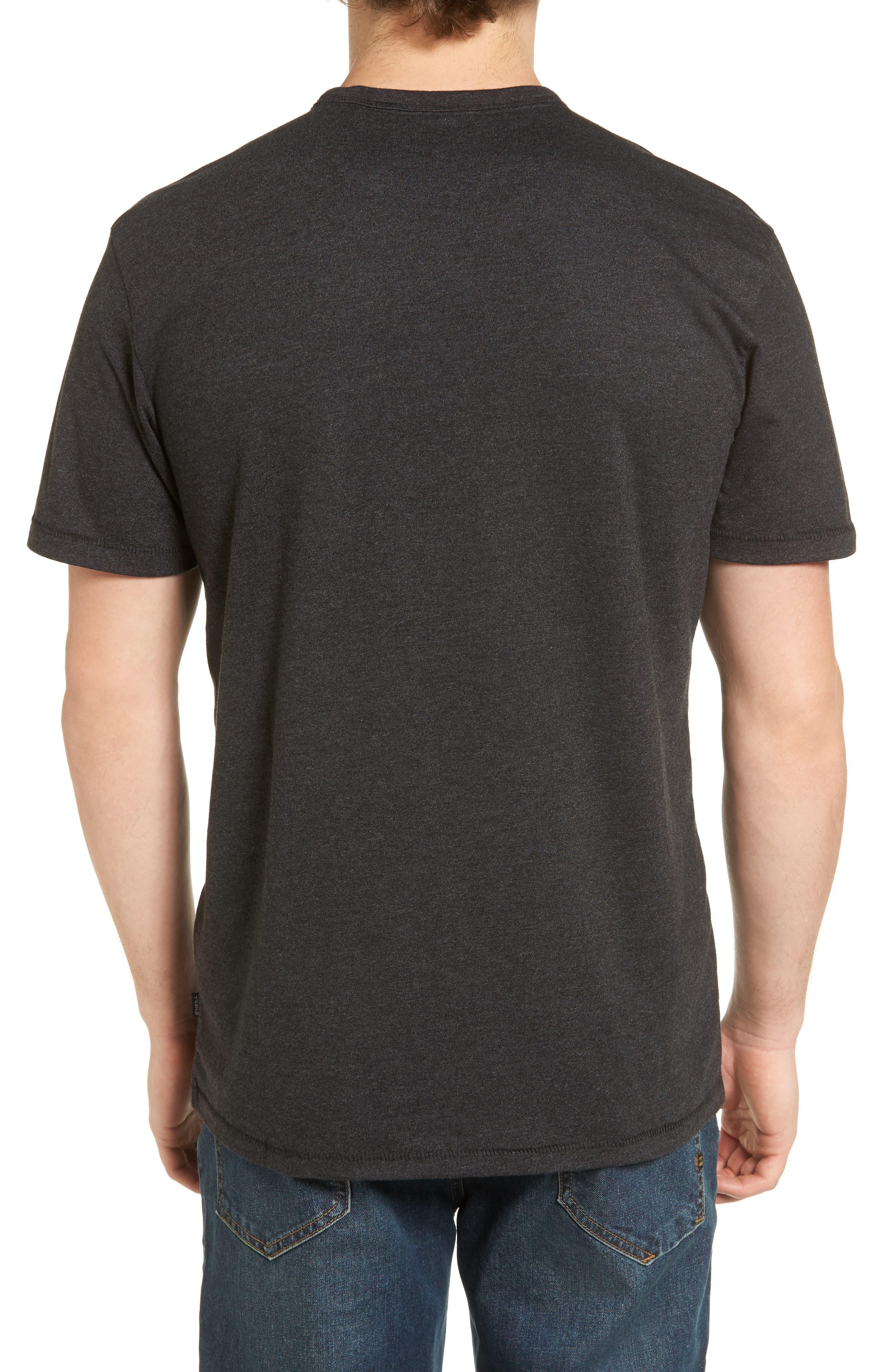 Rodgers Striped Pocket T-Shirt,                             Alternate thumbnail 2, color,                             001