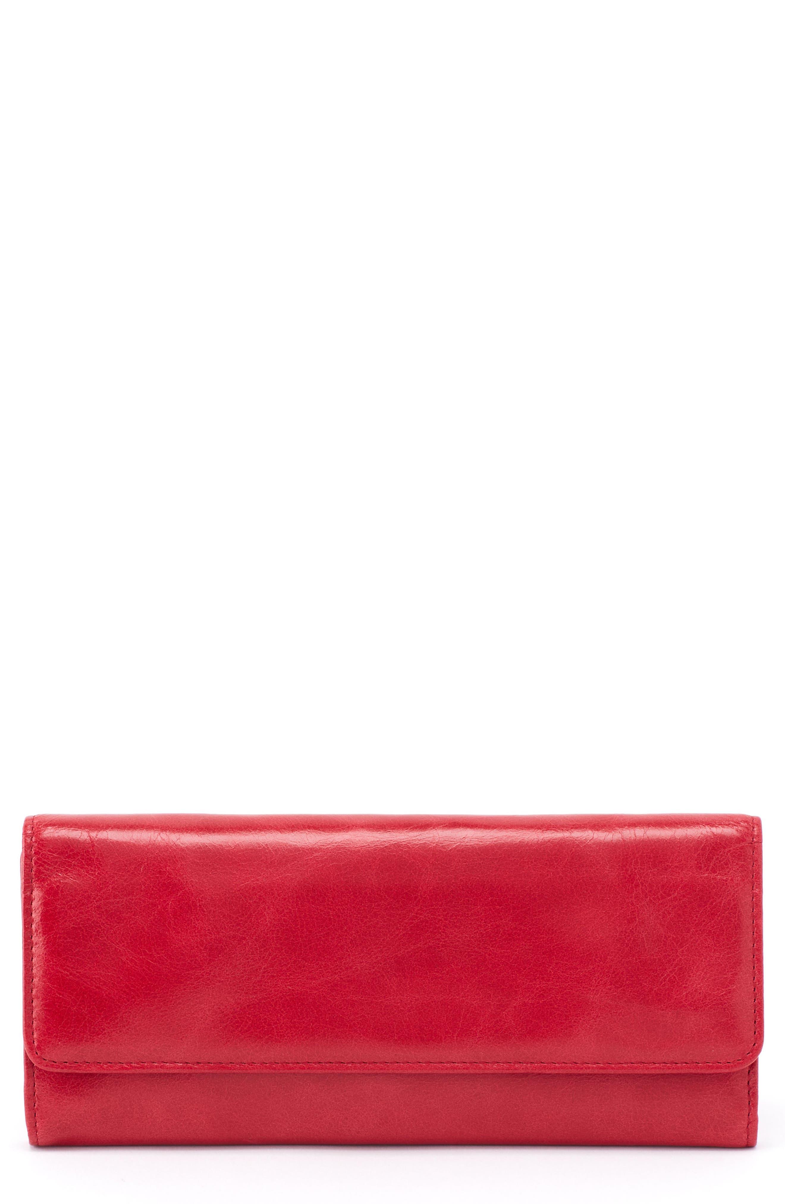 'Sadie' Leather Wallet,                             Main thumbnail 10, color,