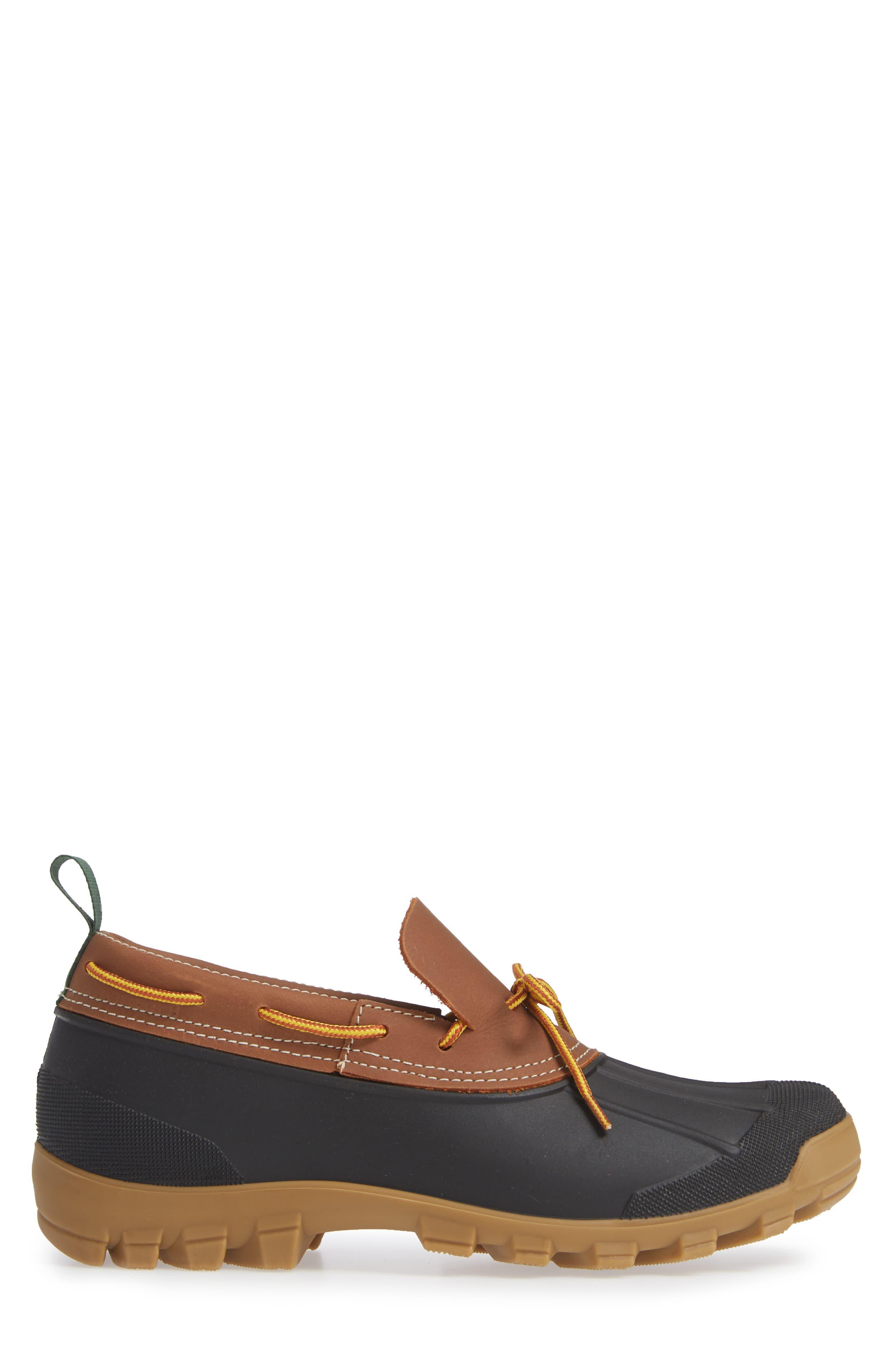 Yukon Short Waterproof Boot,                             Alternate thumbnail 3, color,                             TAN LEATHER
